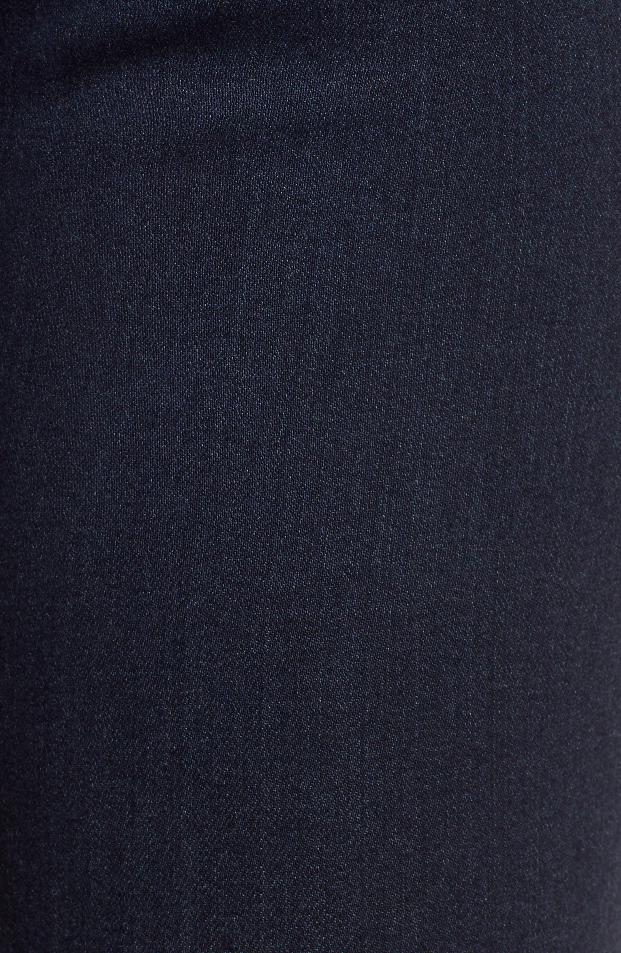 AG, The Mila Super High Waist Ankle Skinny Jeans, Alternate thumbnail 6, color, AUDACIOUS