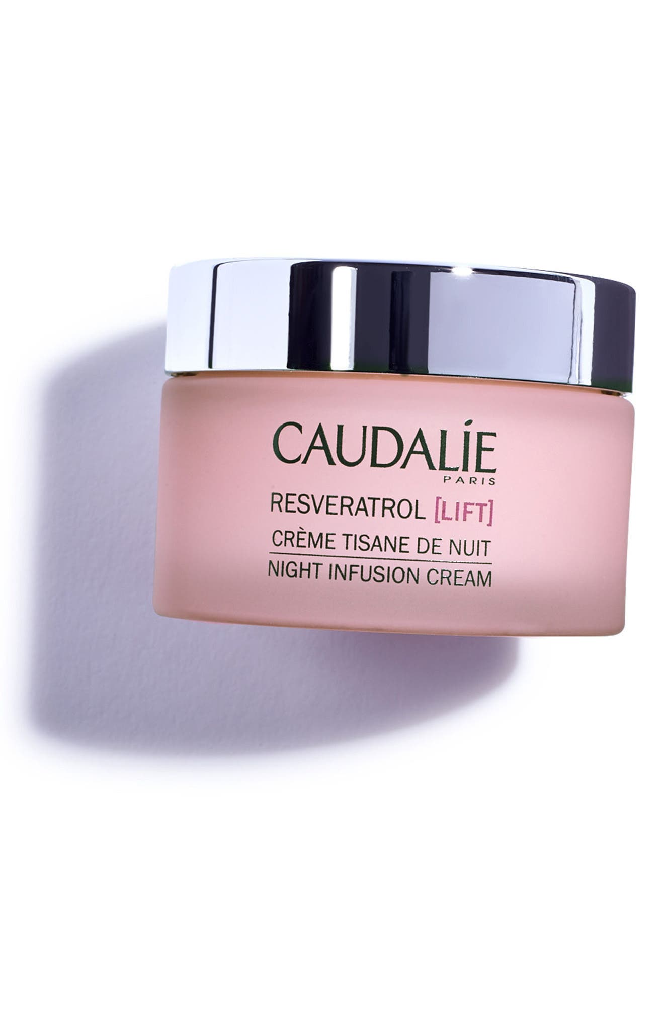 CAUDALÍE, Resveratrol Lift Night Infusion Cream, Alternate thumbnail 4, color, NO COLOR