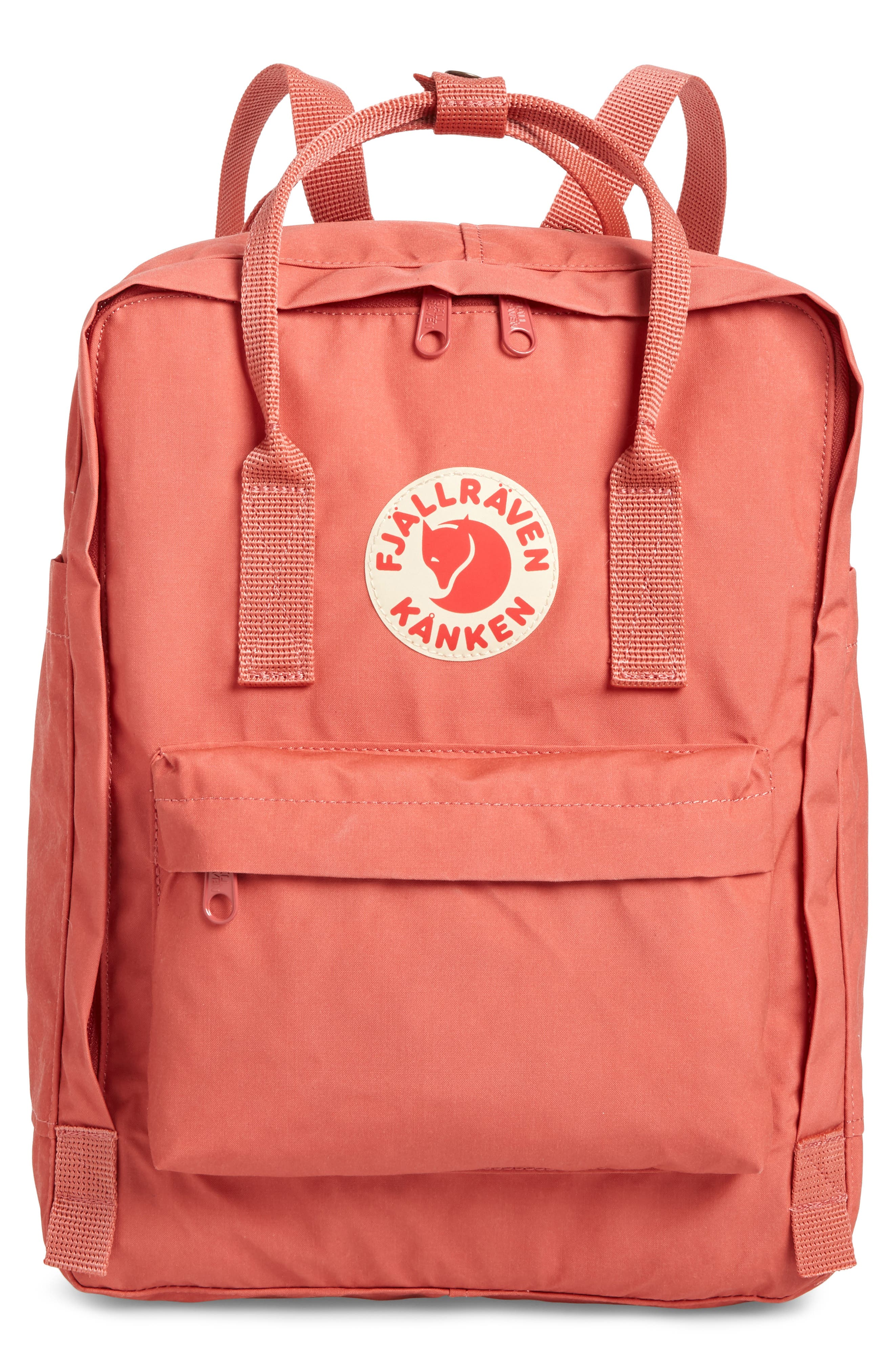 FJÄLLRÄVEN, Kånken Water Resistant Backpack, Main thumbnail 1, color, DAHLIA