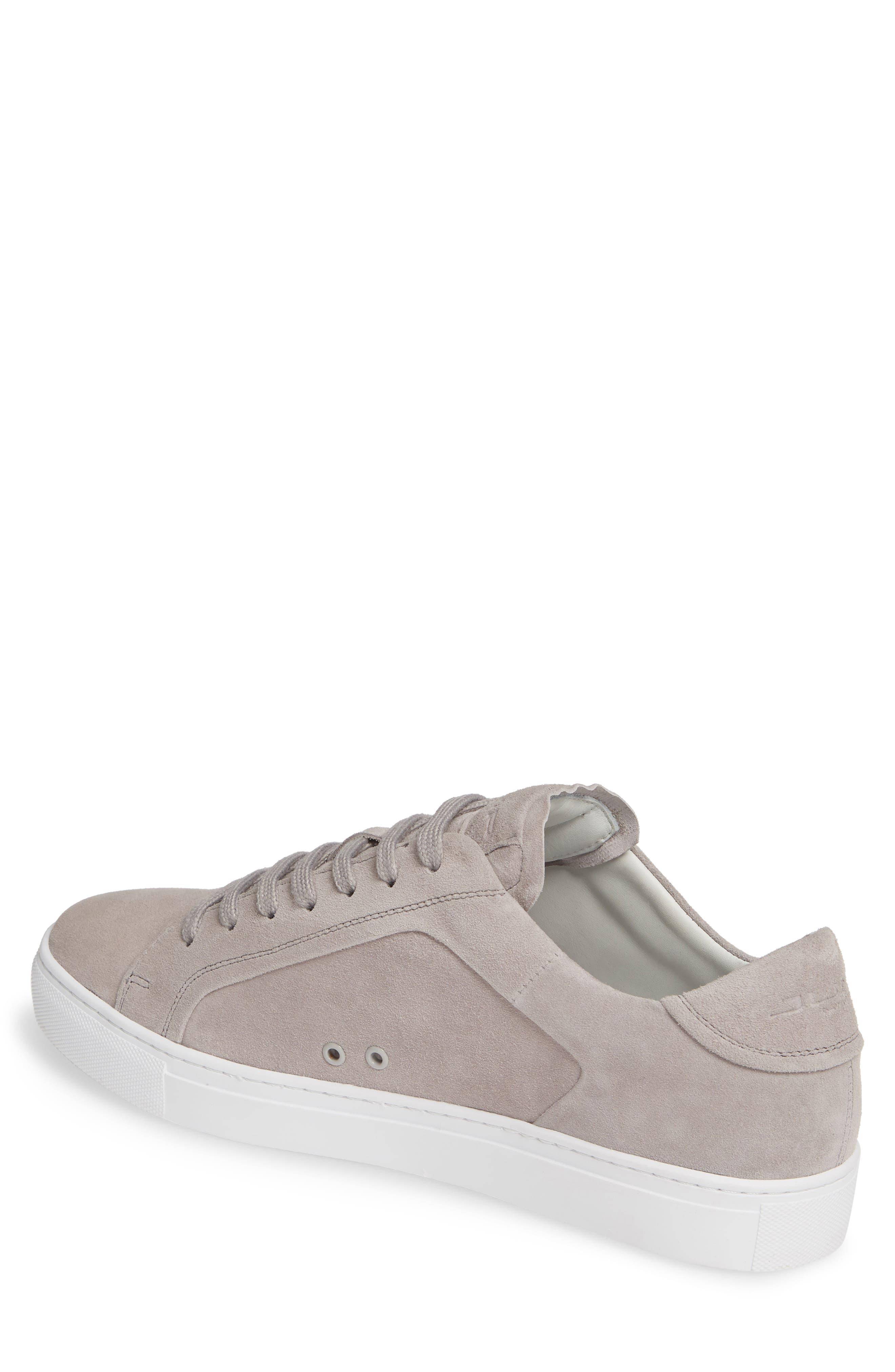 JUMP, Bloke Sneaker, Alternate thumbnail 2, color, GREY SUEDE