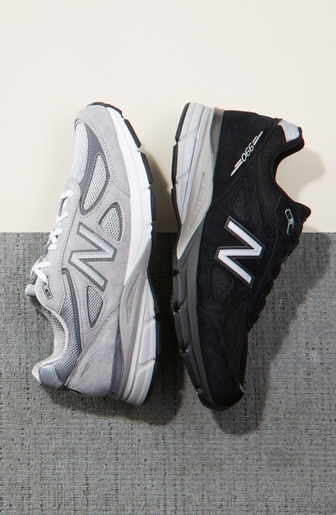 NEW BALANCE, '990' Running Shoe, Alternate thumbnail 5, color, COOL GREY