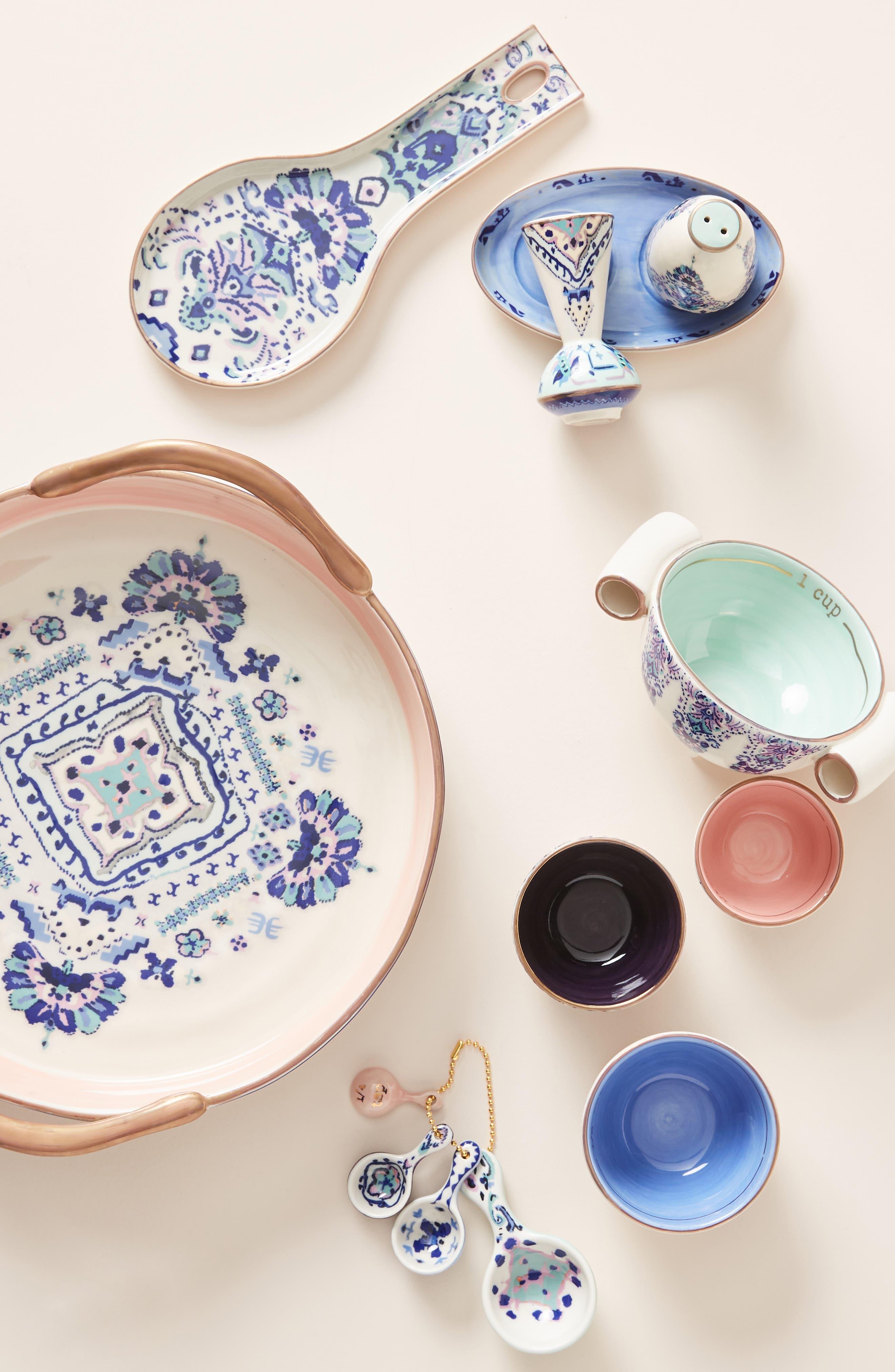 ANTHROPOLOGIE, Lilia Pie Dish, Alternate thumbnail 3, color, BLUE