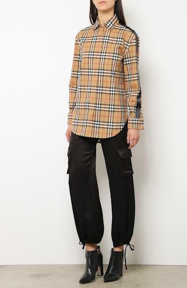 Saoirse Vintage Check Cotton Shirt, video thumbnail