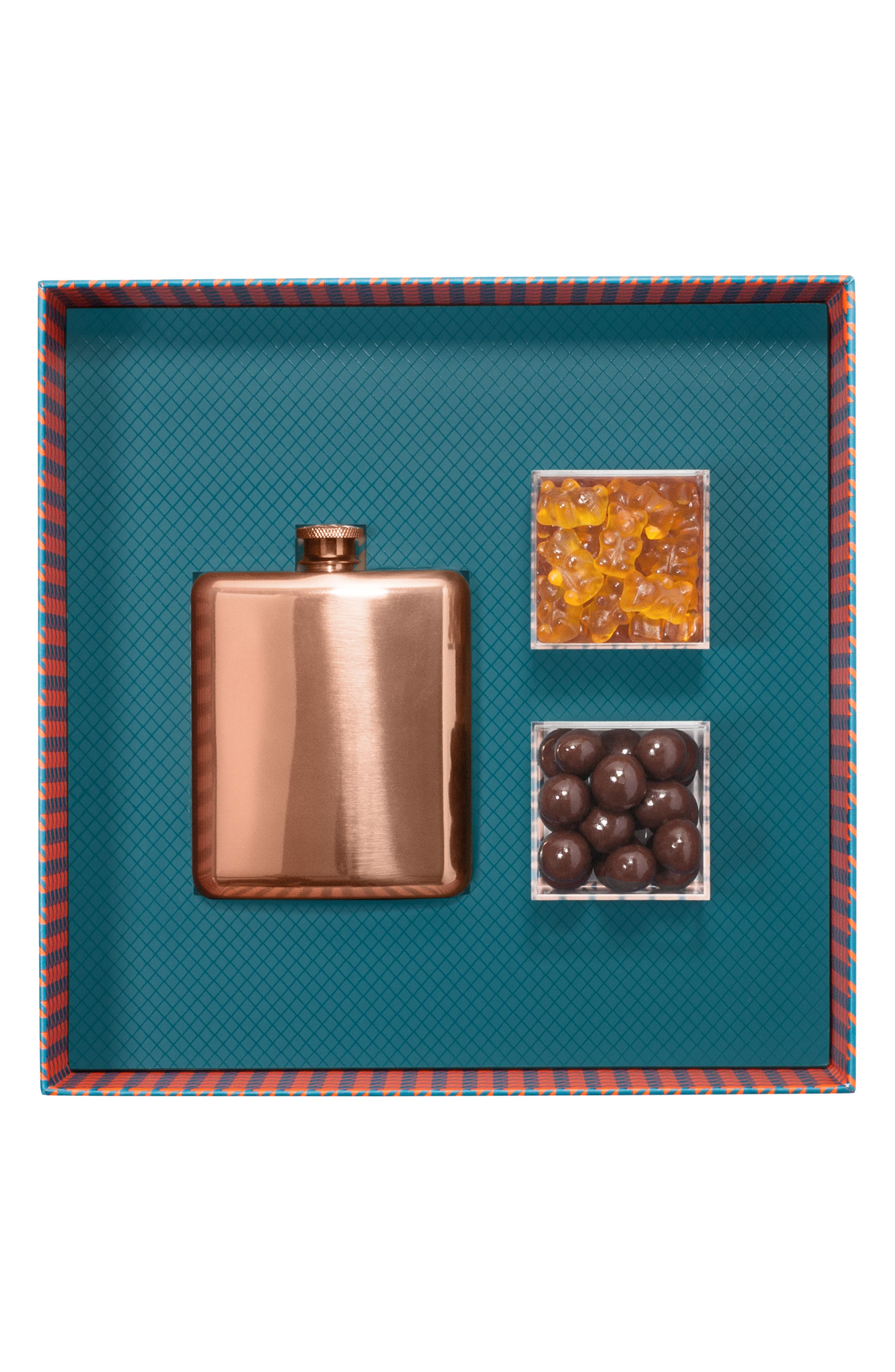 SUGARFINA, Vice 2.0 Flask & Candy Gift Set, Alternate thumbnail 4, color, BLUE