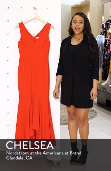 Demi High/Low Mermaid Hem Evening Dress, sales video thumbnail