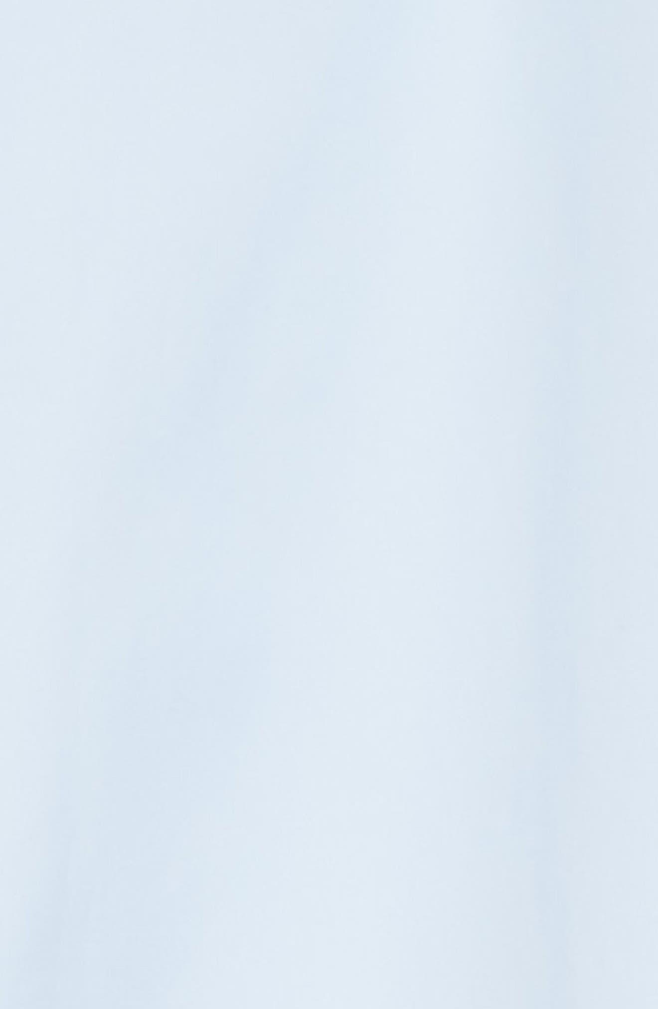 CALVIN KLEIN 205W39NYC, Pinwheel Sport Shirt, Alternate thumbnail 6, color, LIGHT SKY MARINE
