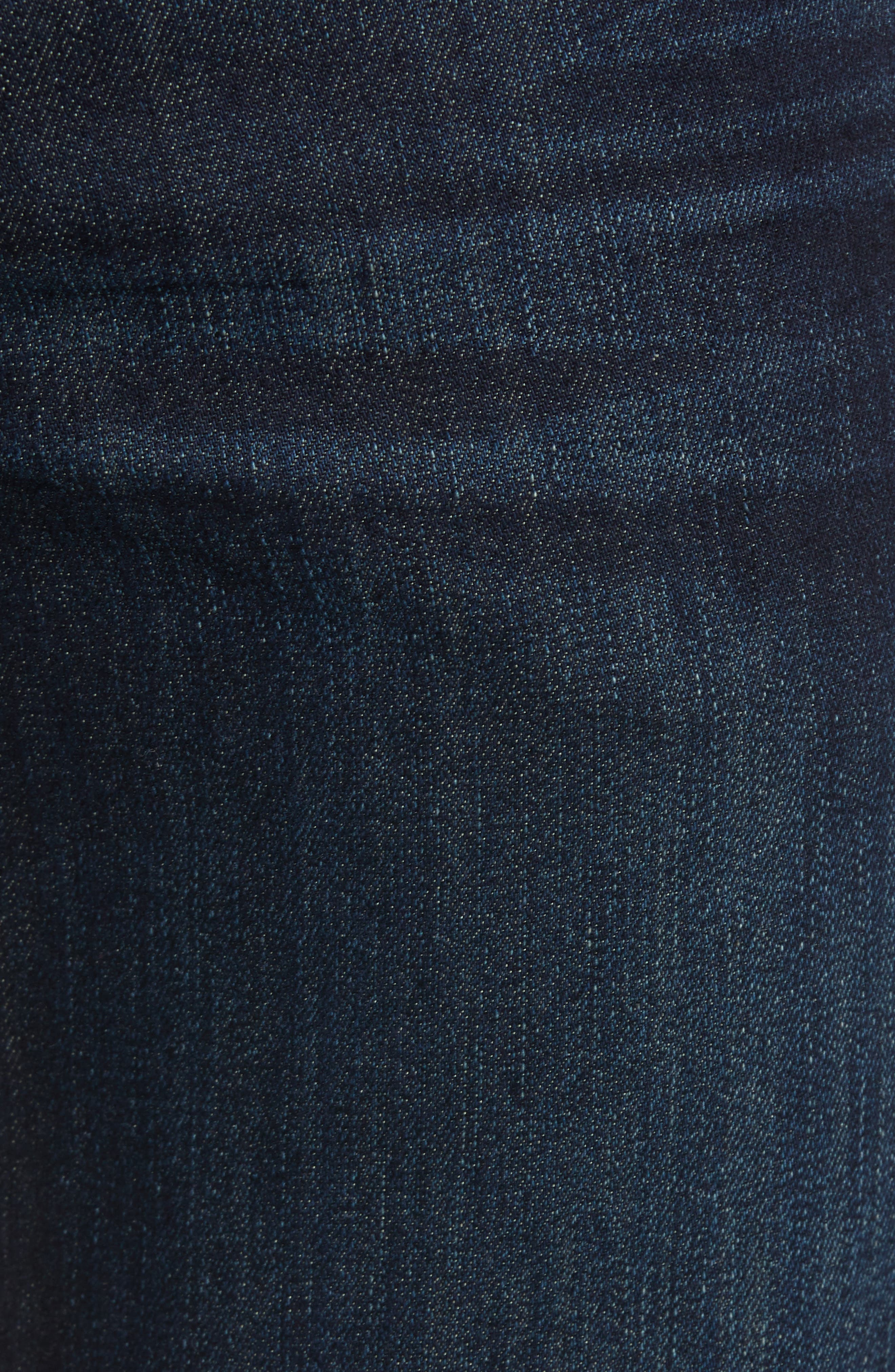 7 FOR ALL MANKIND<SUP>®</SUP>, Airweft Standard Straight Leg Jeans, Alternate thumbnail 5, color, 401