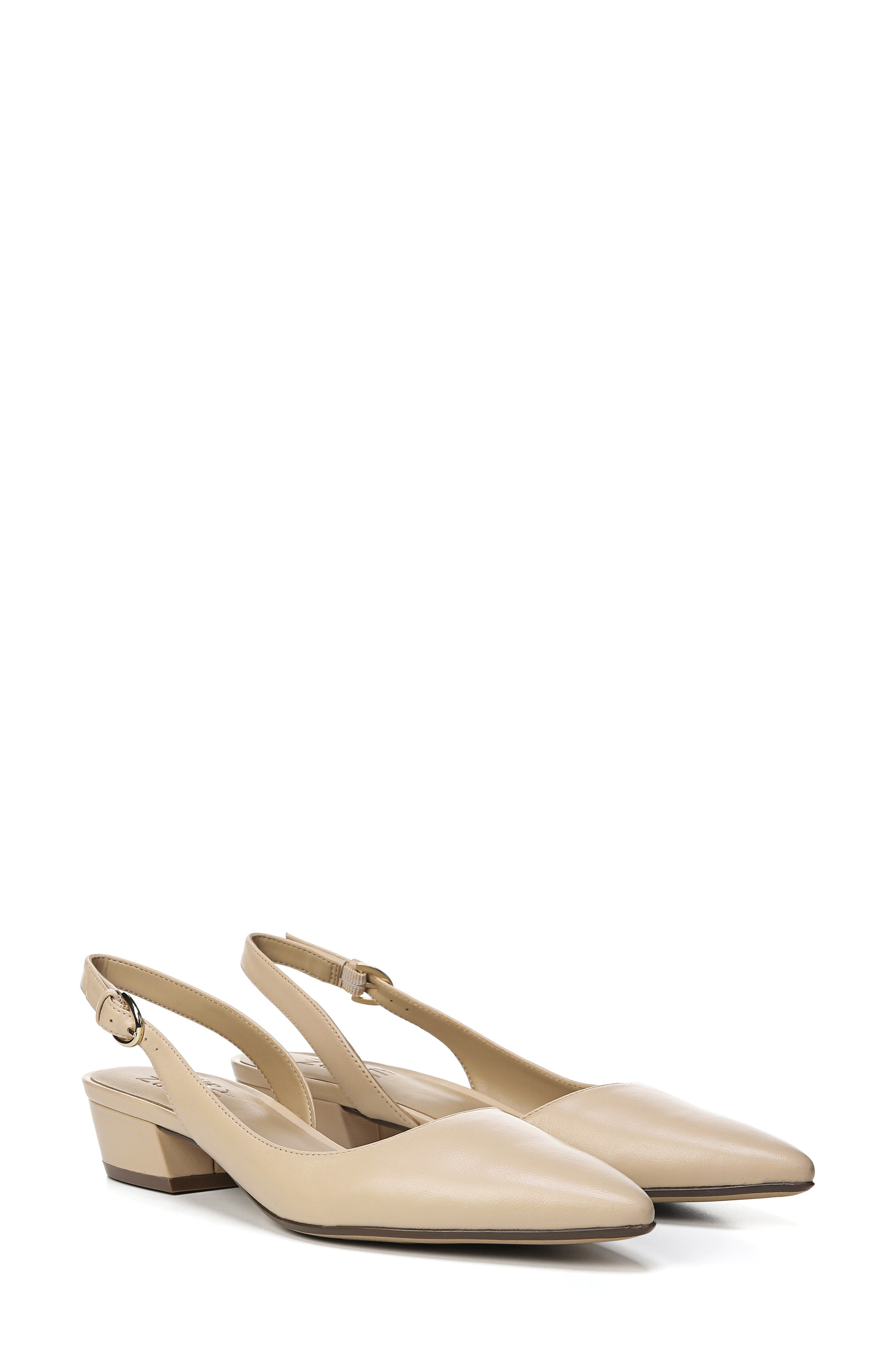 NATURALIZER, Banks Pump, Alternate thumbnail 9, color, SOFT NUDE LEATHER