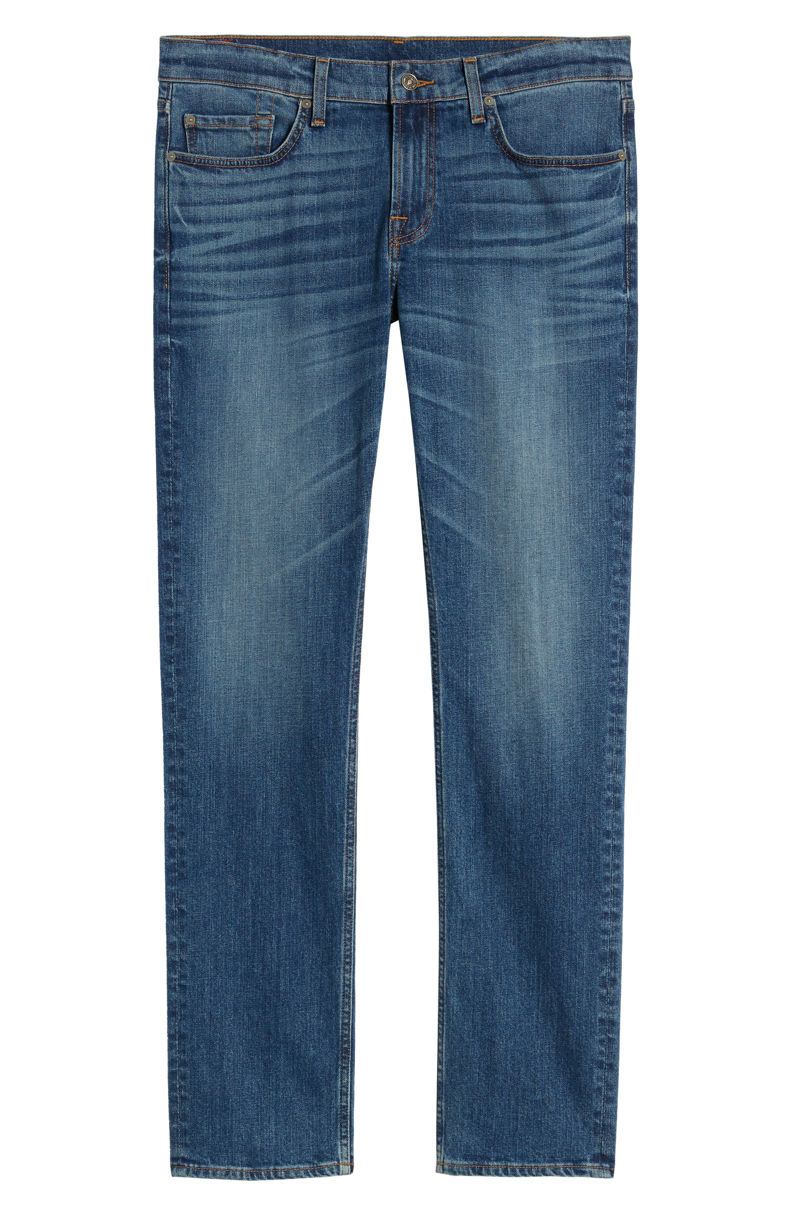 7 FOR ALL MANKIND<SUP>®</SUP>, Slimmy Slim Fit Jeans, Alternate thumbnail 6, color, PRPH