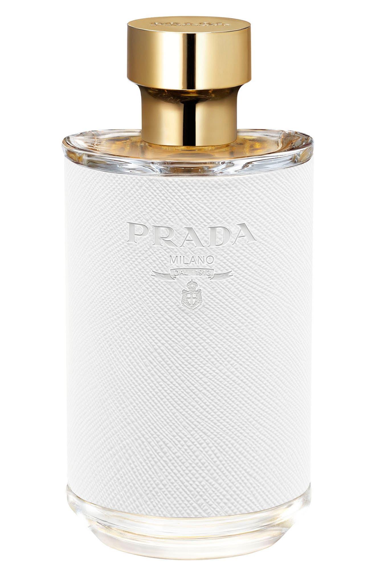 PRADA, La Femme Prada Eau de Parfum, Alternate thumbnail 3, color, NO COLOR