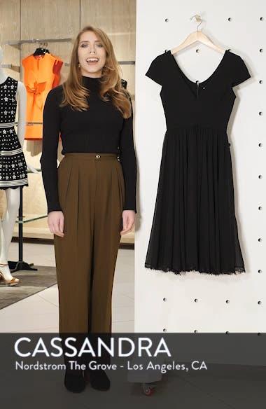 Corey Chiffon Fit & Flare Dress, sales video thumbnail