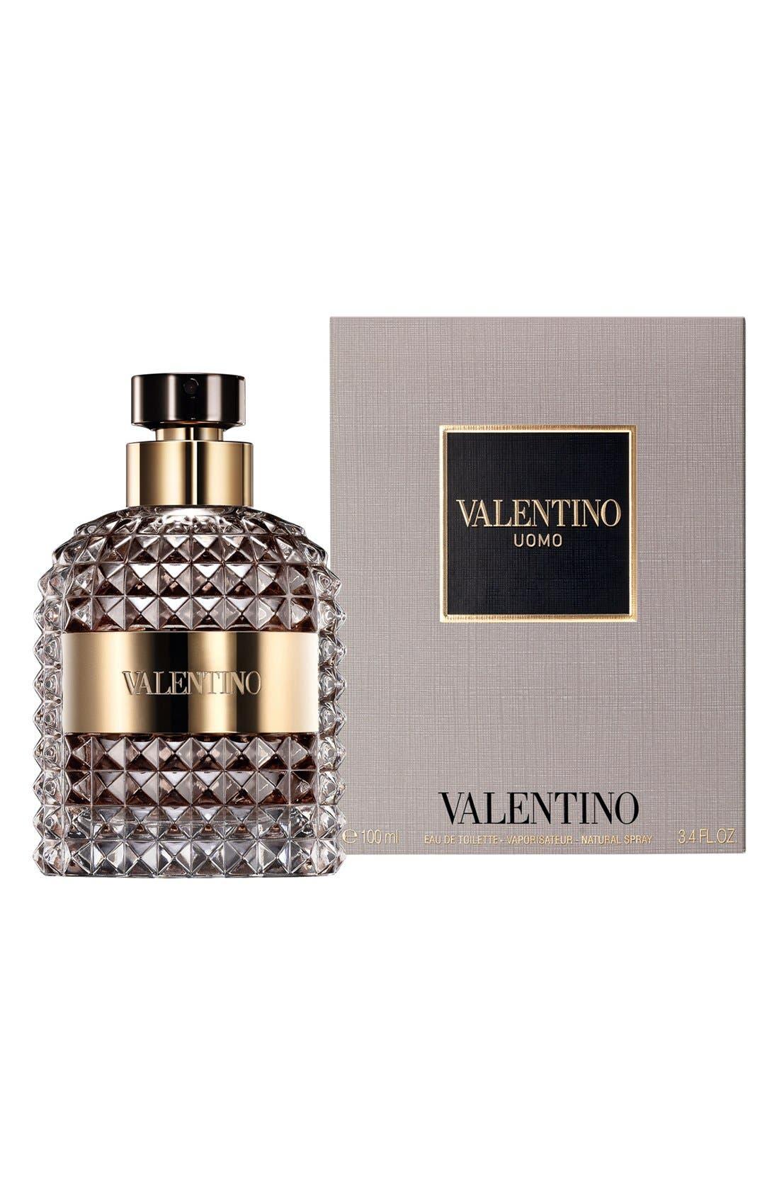 VALENTINO, Uomo Fragrance, Alternate thumbnail 2, color, 000