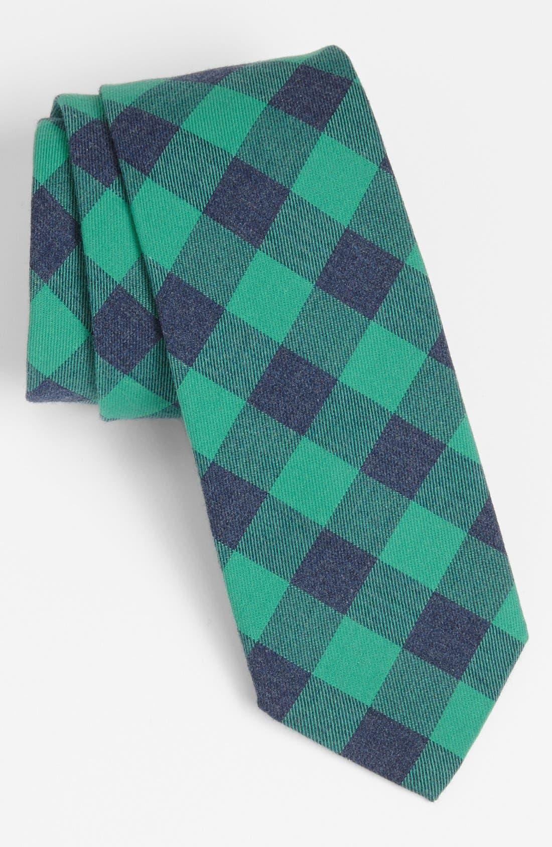 GITMAN, Woven Cotton Tie, Main thumbnail 1, color, 300