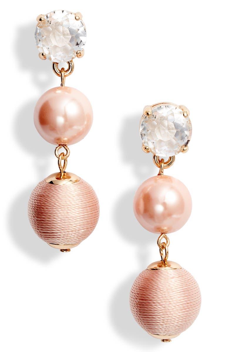 Rachel Parcell Linear Drop Earrings (Nordstrom Exclusive) | Nordstrom