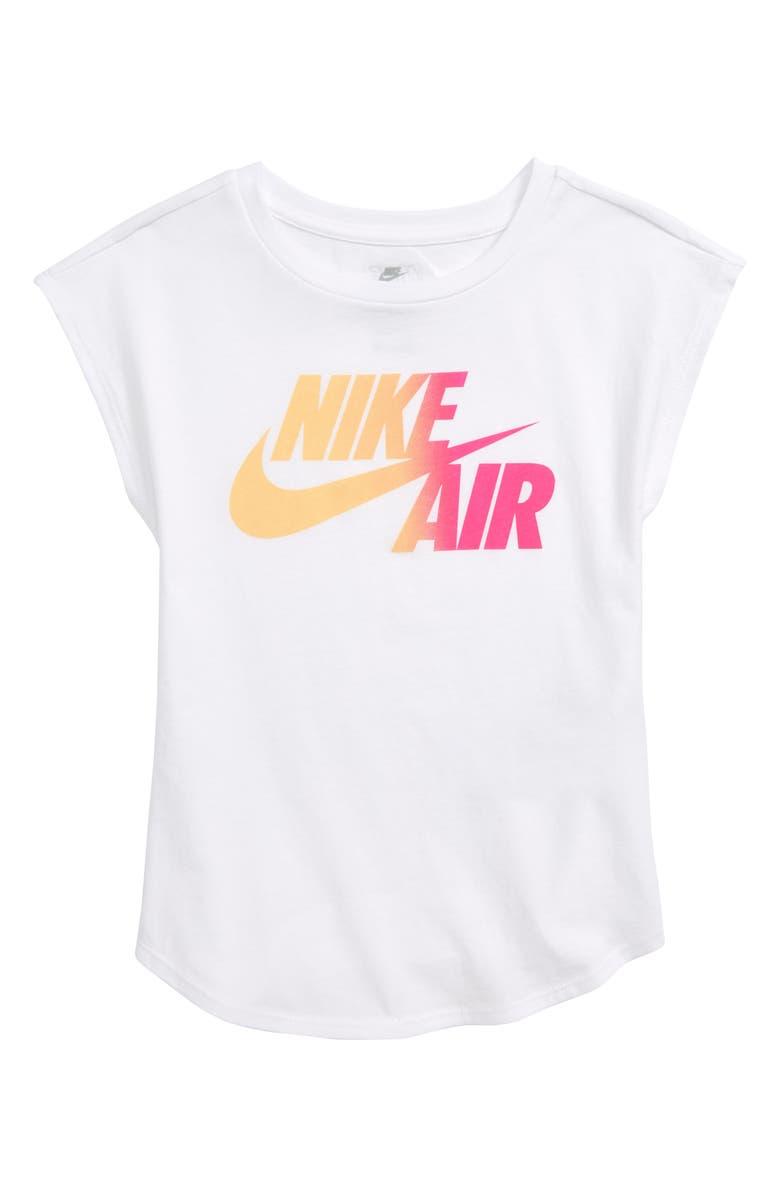Nike Air Ombre Logo Tee Toddler Girls Little Girls Nordstrom