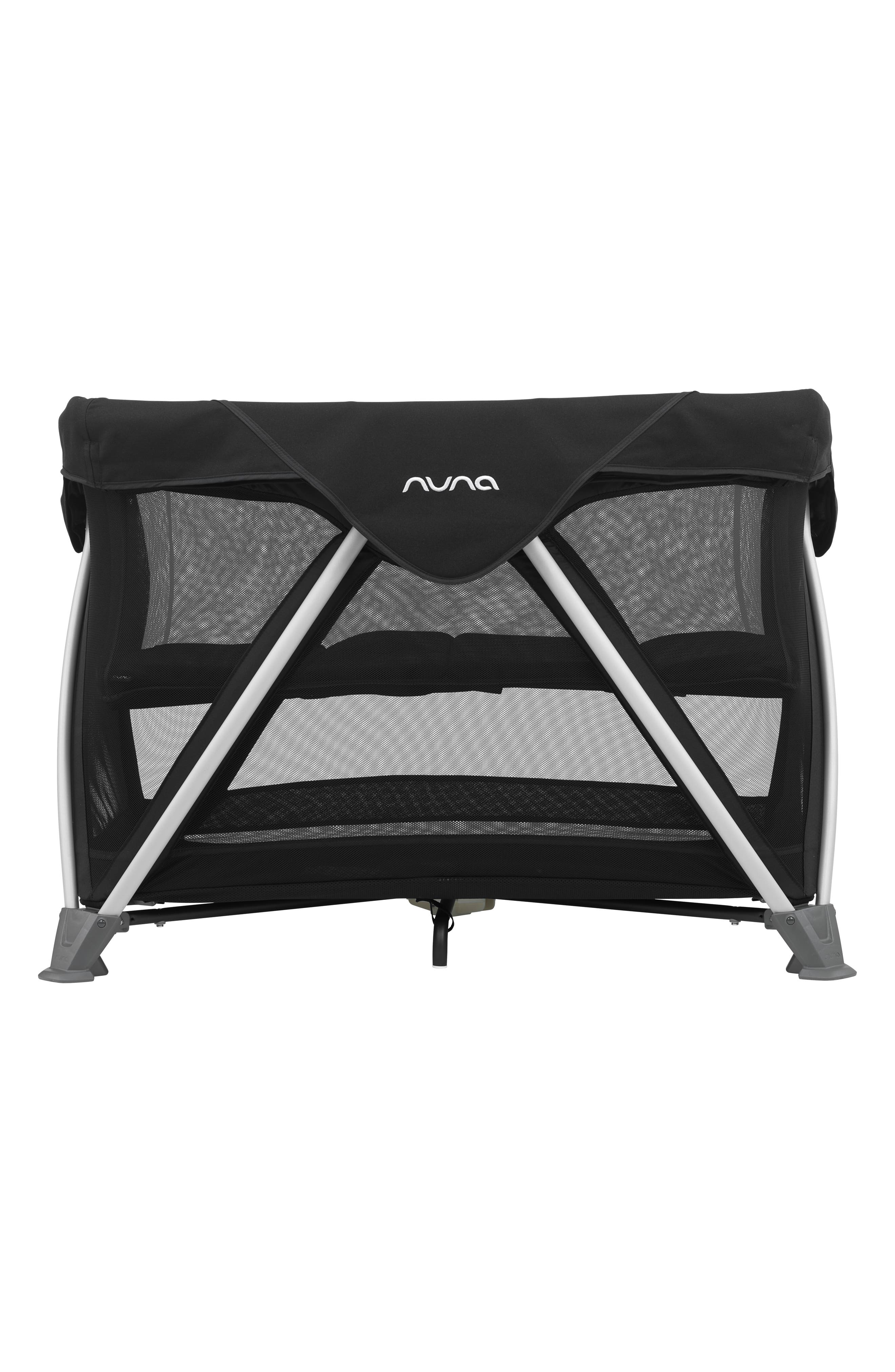 NUNA, SENA<sup>®</sup> Aire Travel Crib, Main thumbnail 1, color, CAVIAR
