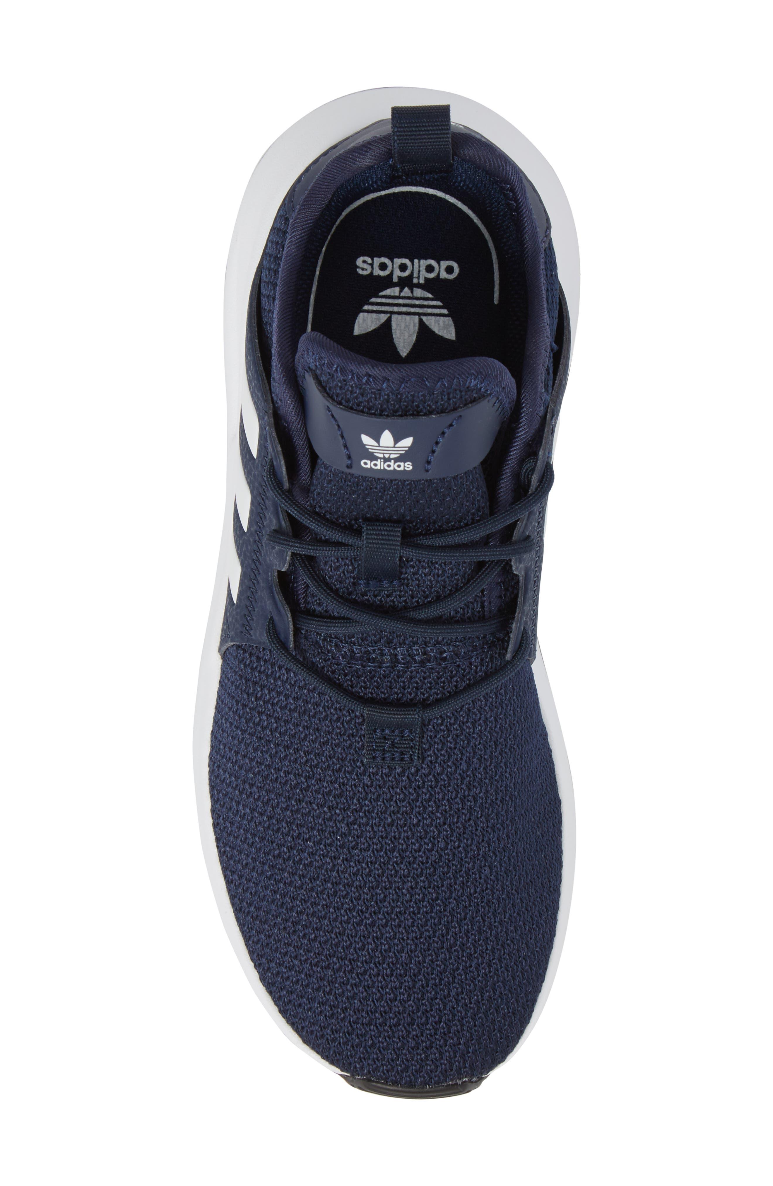 ADIDAS, X_PLR Sneaker, Alternate thumbnail 5, color, COLLEGIATE NAVY/ WHITE