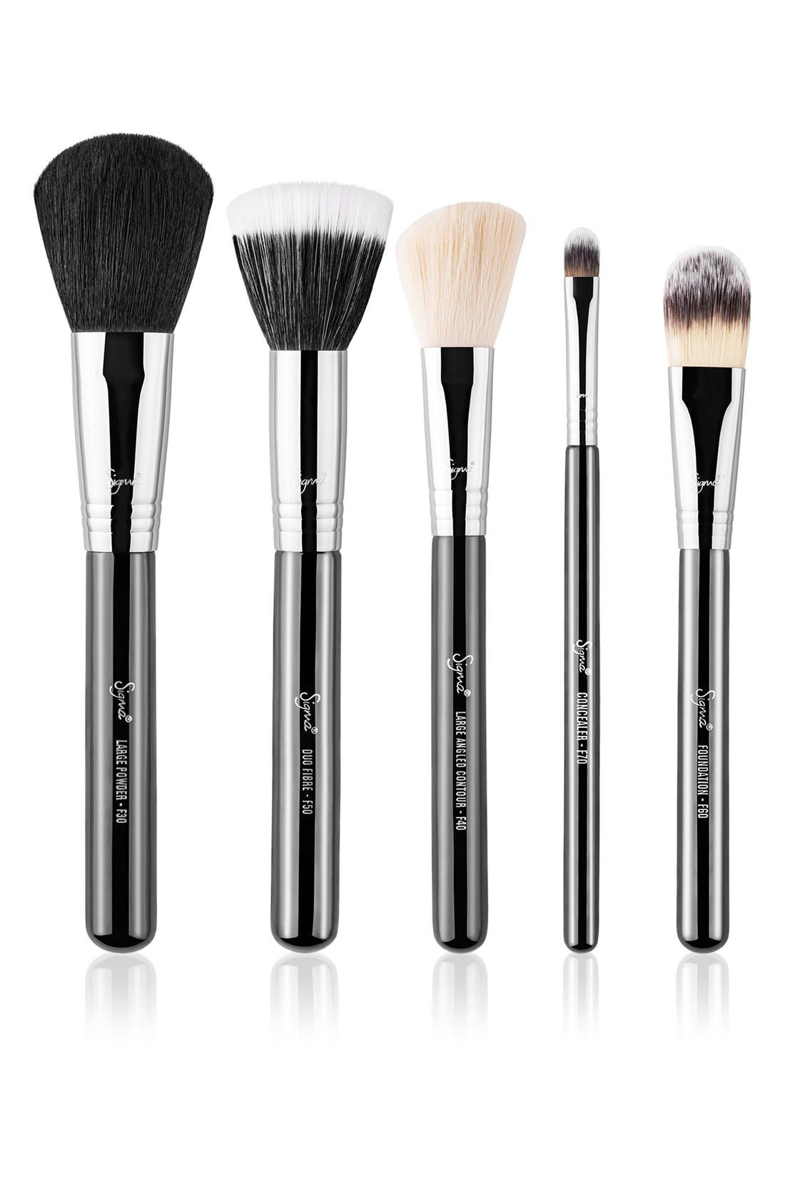 SIGMA BEAUTY, Basic Face Kit, Main thumbnail 1, color, NO COLOR