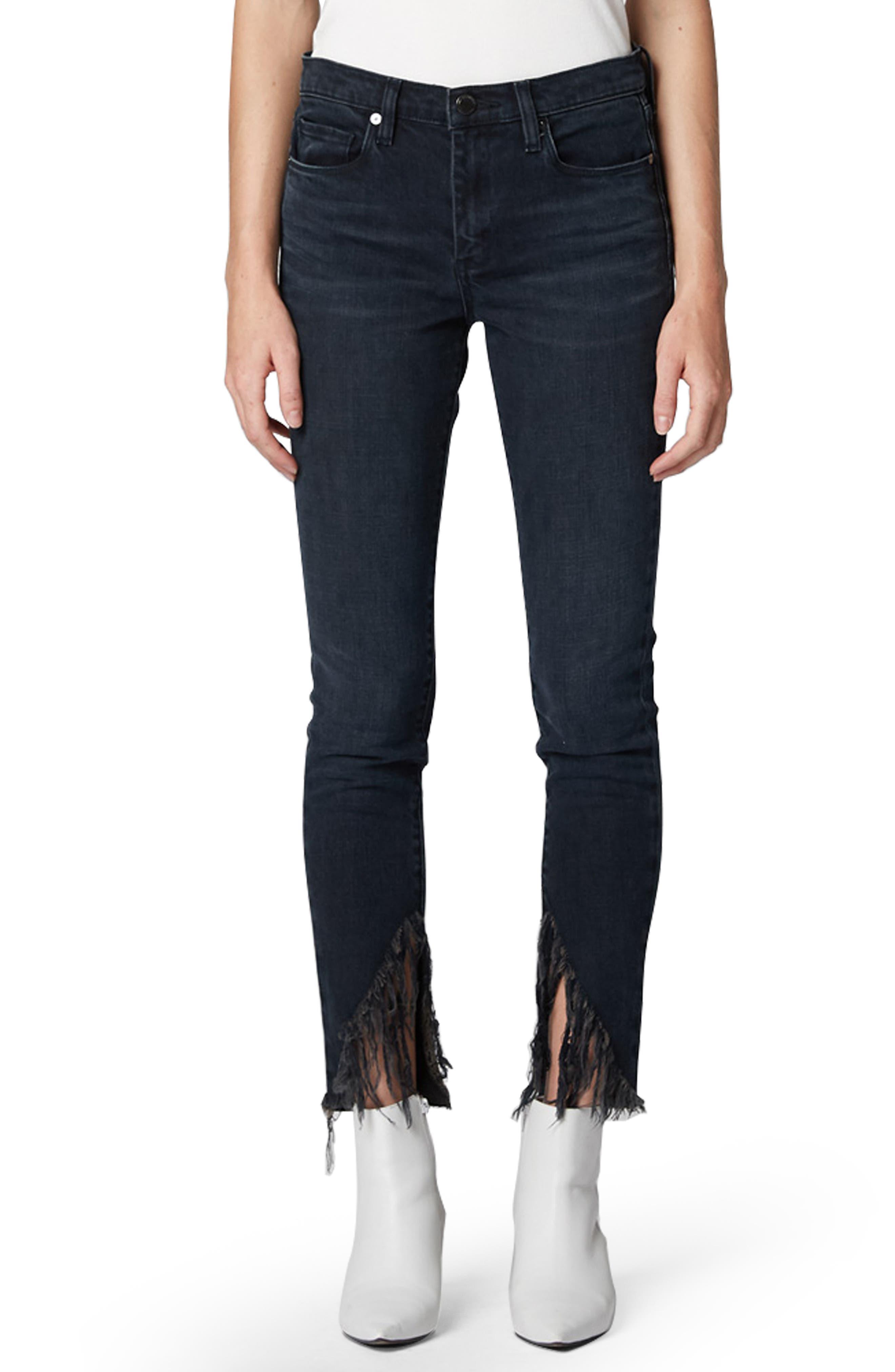 The Bond Fray Hem Skinny Jeans by Blanknyc