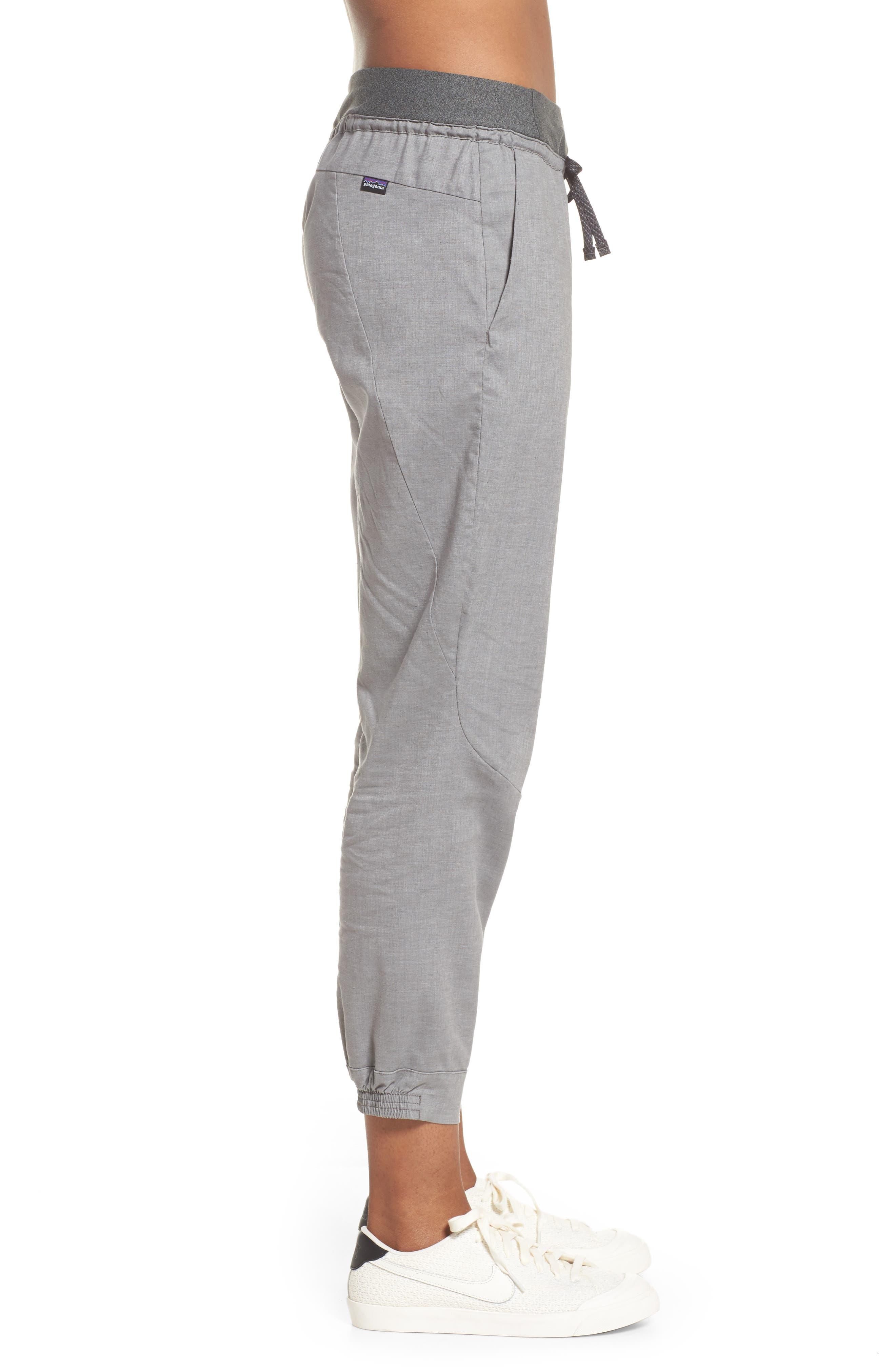 PATAGONIA, Women's Hampi Rock Pants, Alternate thumbnail 4, color, FEATHER GREY