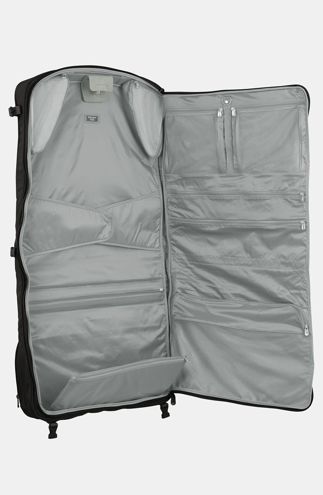 BRIGGS & RILEY, Baseline - Compact Garment Bag, Alternate thumbnail 2, color, BLACK