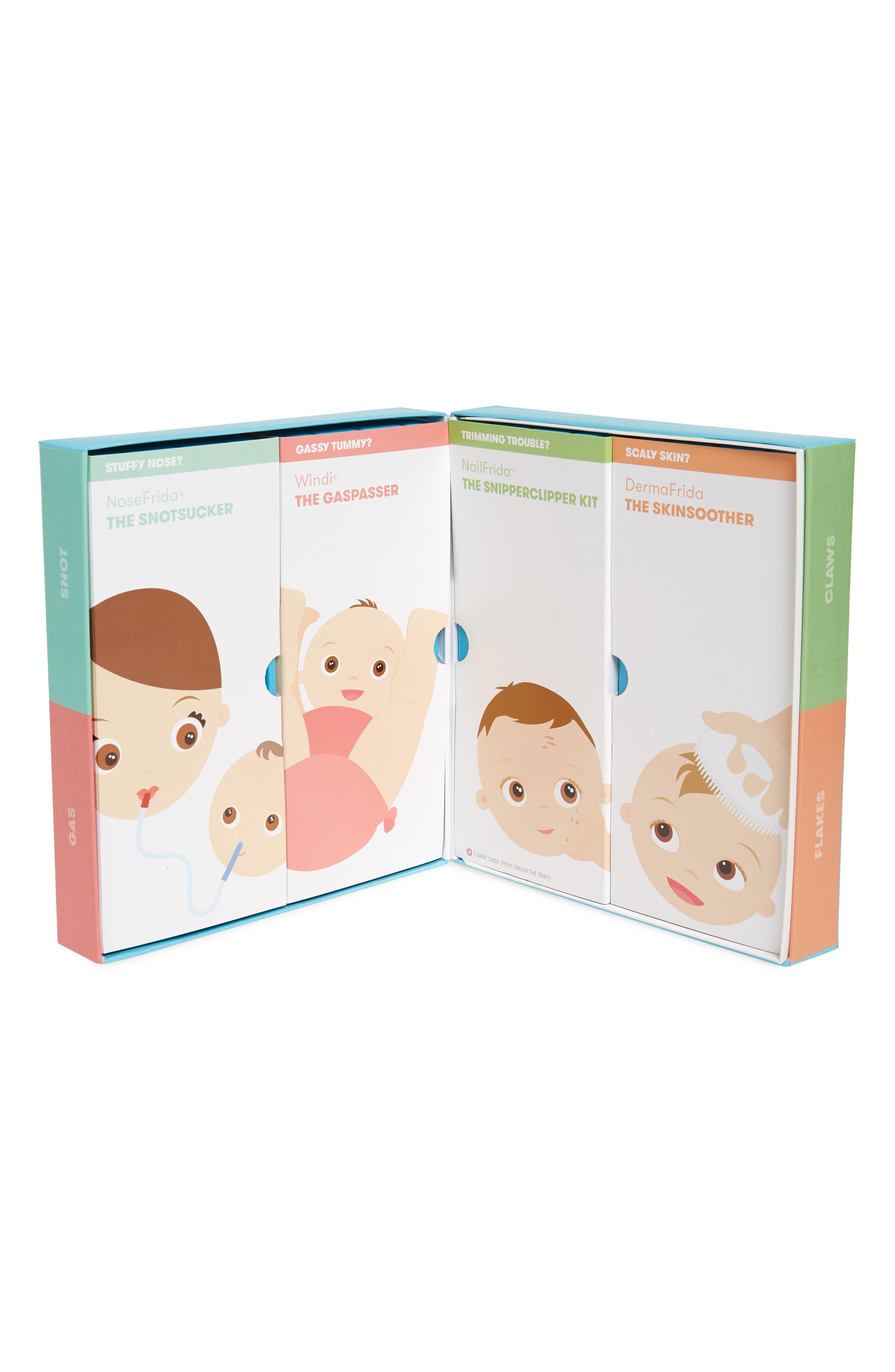 FRIDABABY, Baby Basics Kit, Alternate thumbnail 2, color, 100