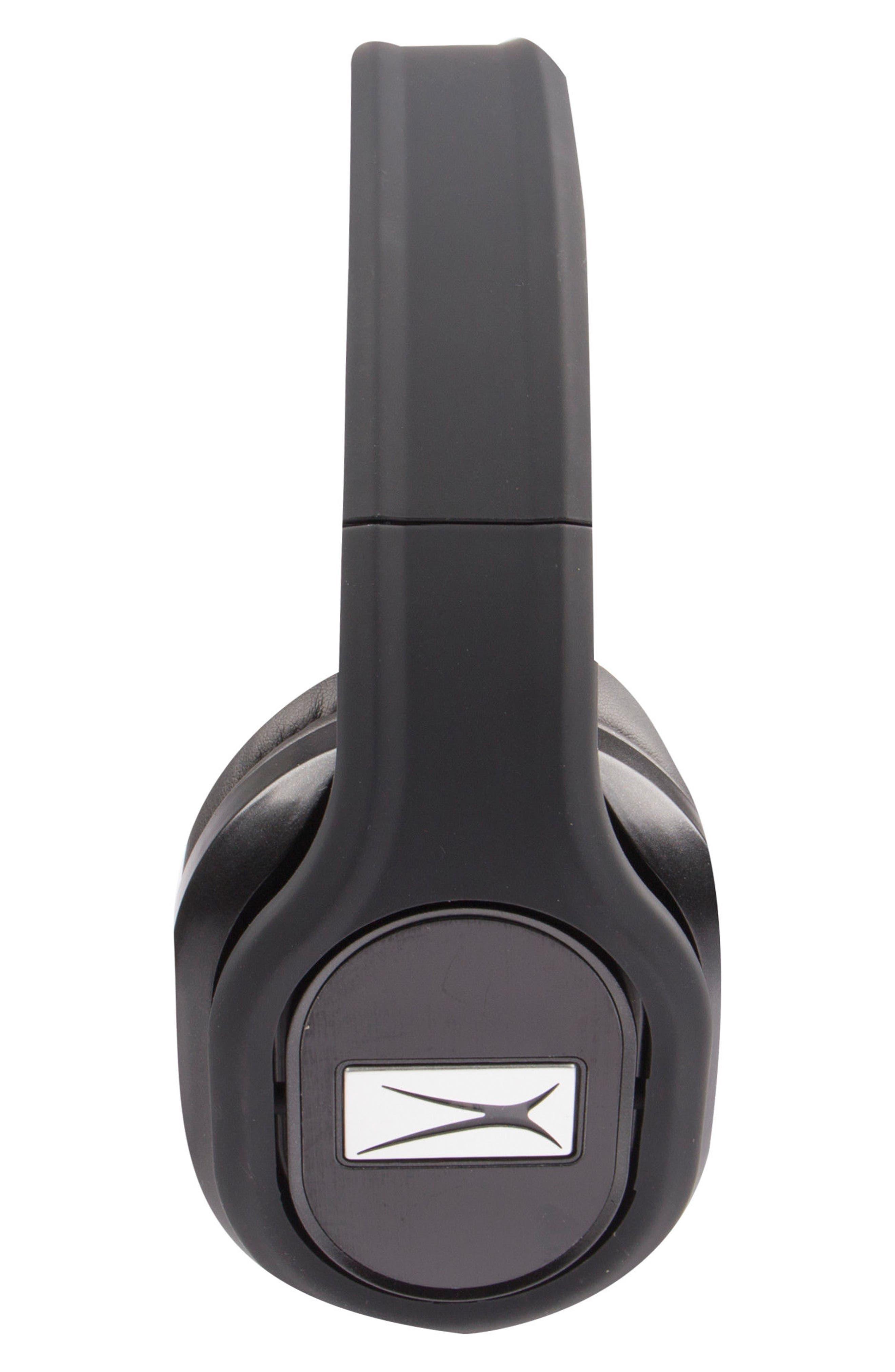 ALTEC LANSING, Evolution 2 Wireless Headphones, Alternate thumbnail 2, color, BLACK