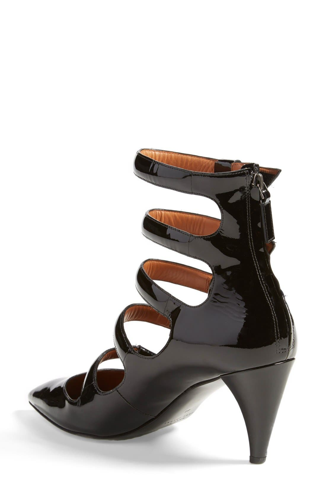 MARC JACOBS, MARC BY MARC JACOBS 'Runway' Pump, Alternate thumbnail 2, color, 001