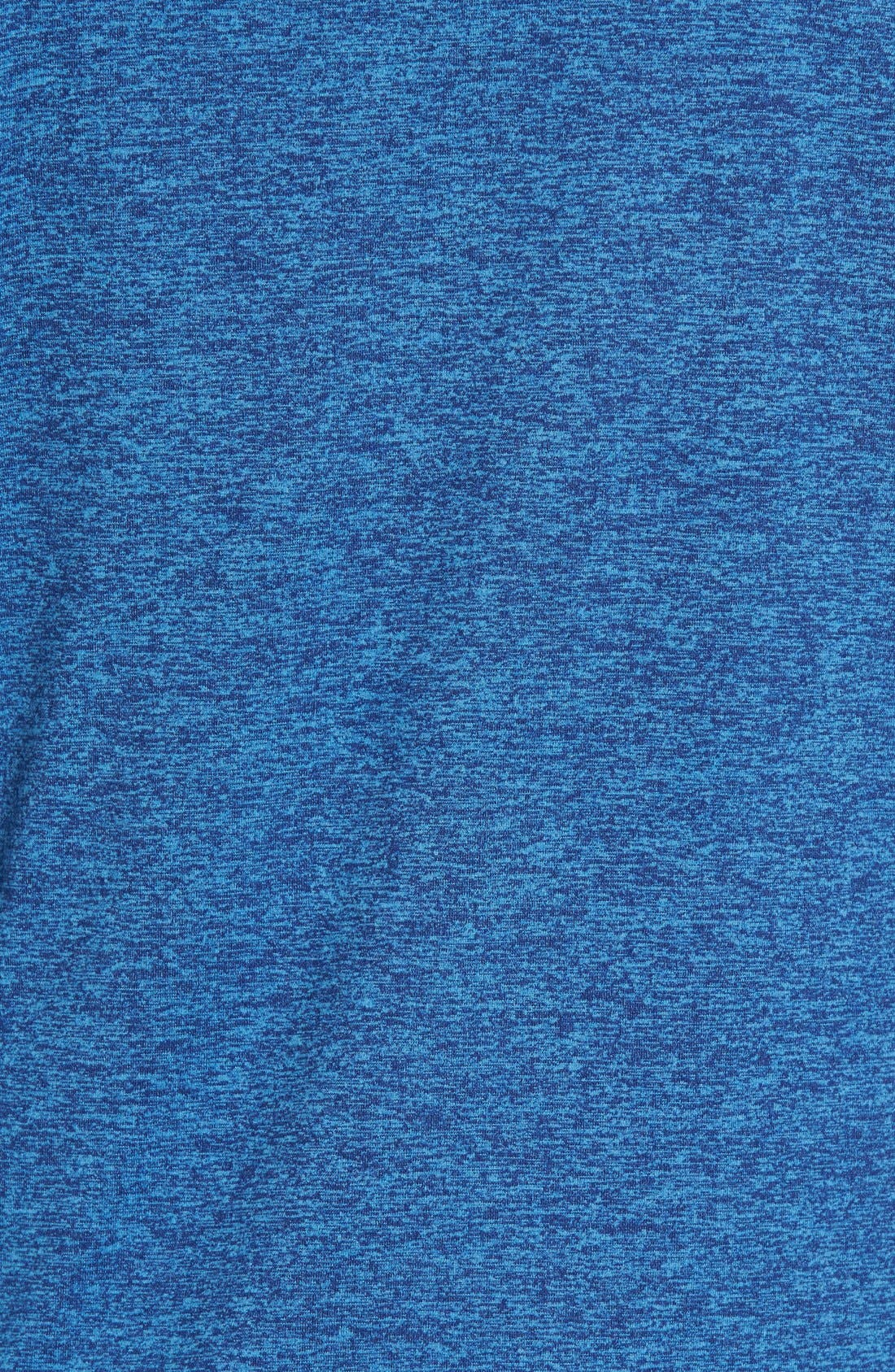 SODO, 'Elevate' Moisture Wicking Stretch Quarter Zip Pullover, Alternate thumbnail 6, color, OCEAN BLUE/ NAVY