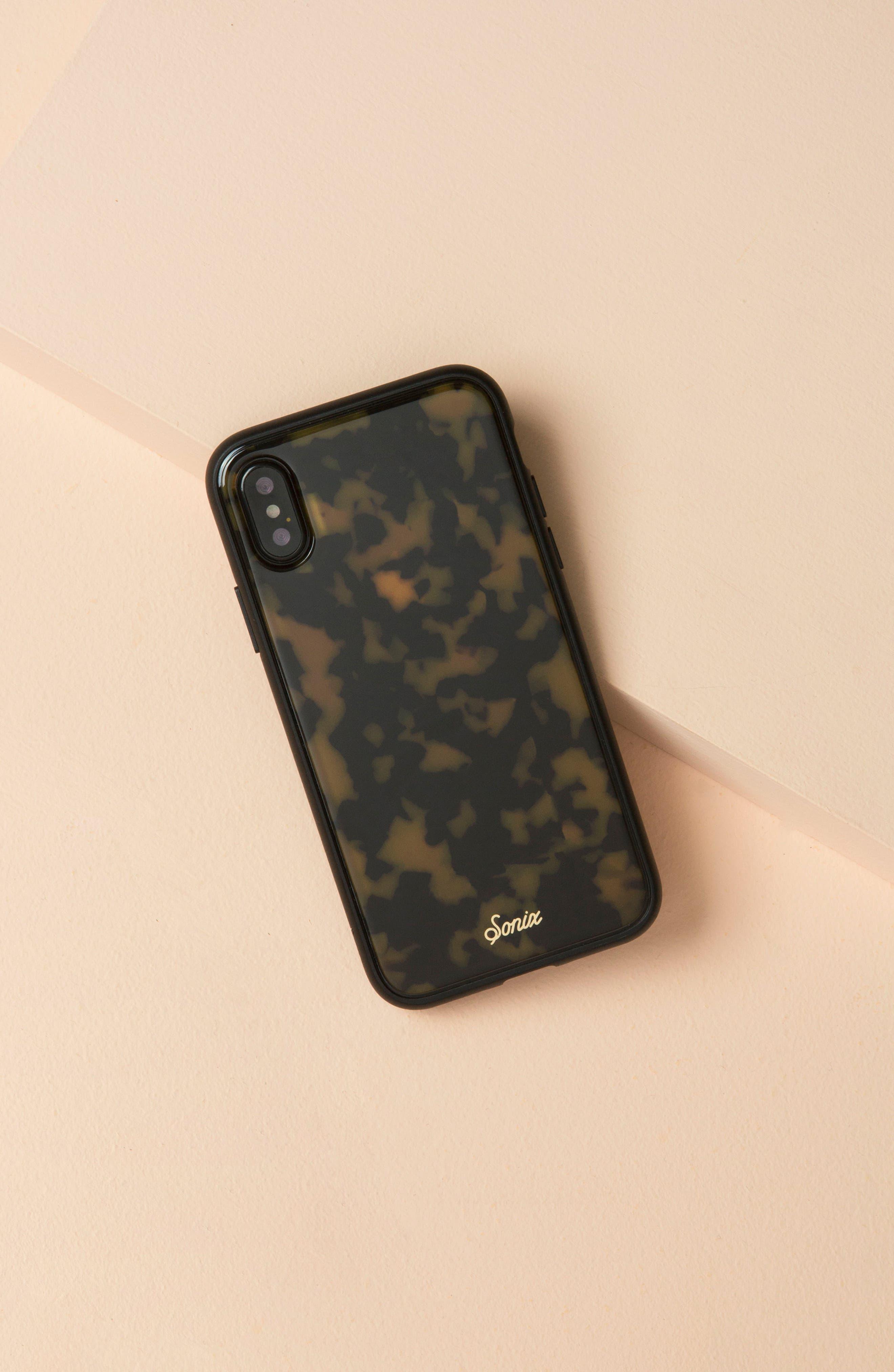 SONIX, Tortoise iPhone 6/6s/7/8 & 6/6s/7/8 Plus Case, Alternate thumbnail 6, color, 200
