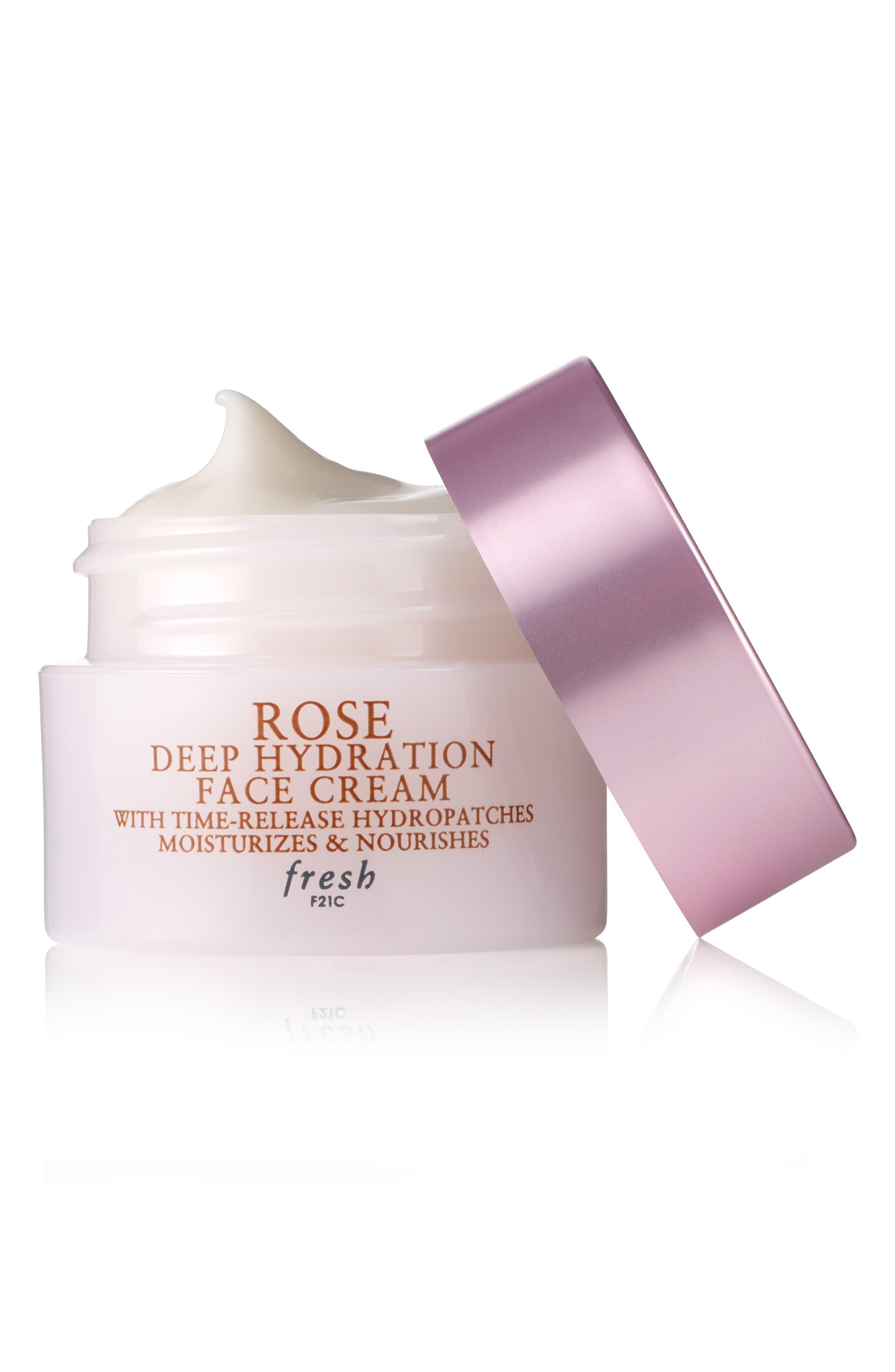 FRESH<SUP>®</SUP>, Rose Deep Hydration Face Cream, Alternate thumbnail 2, color, NO COLOR