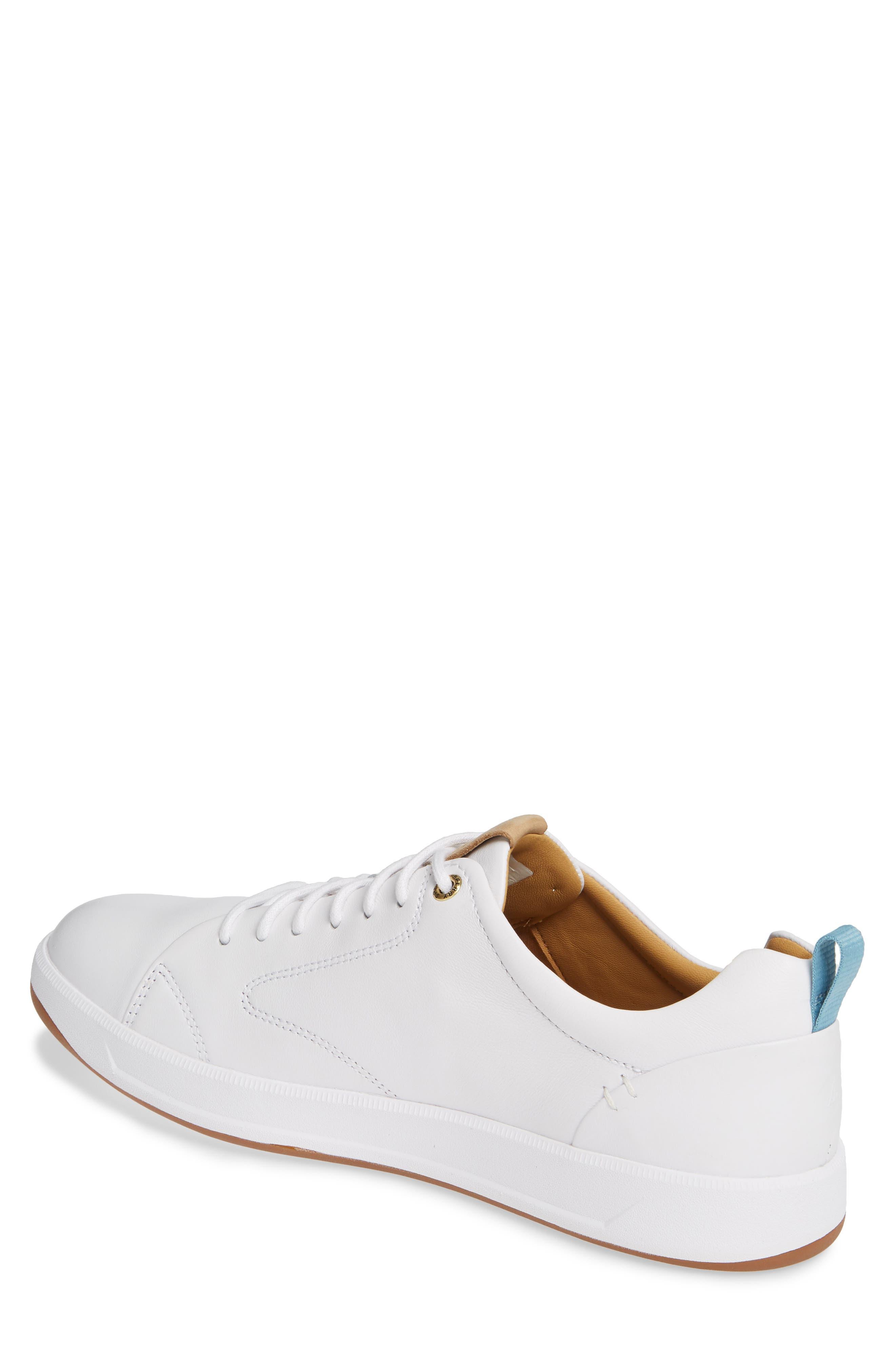 SPERRY, Gold Cup Richfield LTT Sneaker, Alternate thumbnail 2, color, WHITE