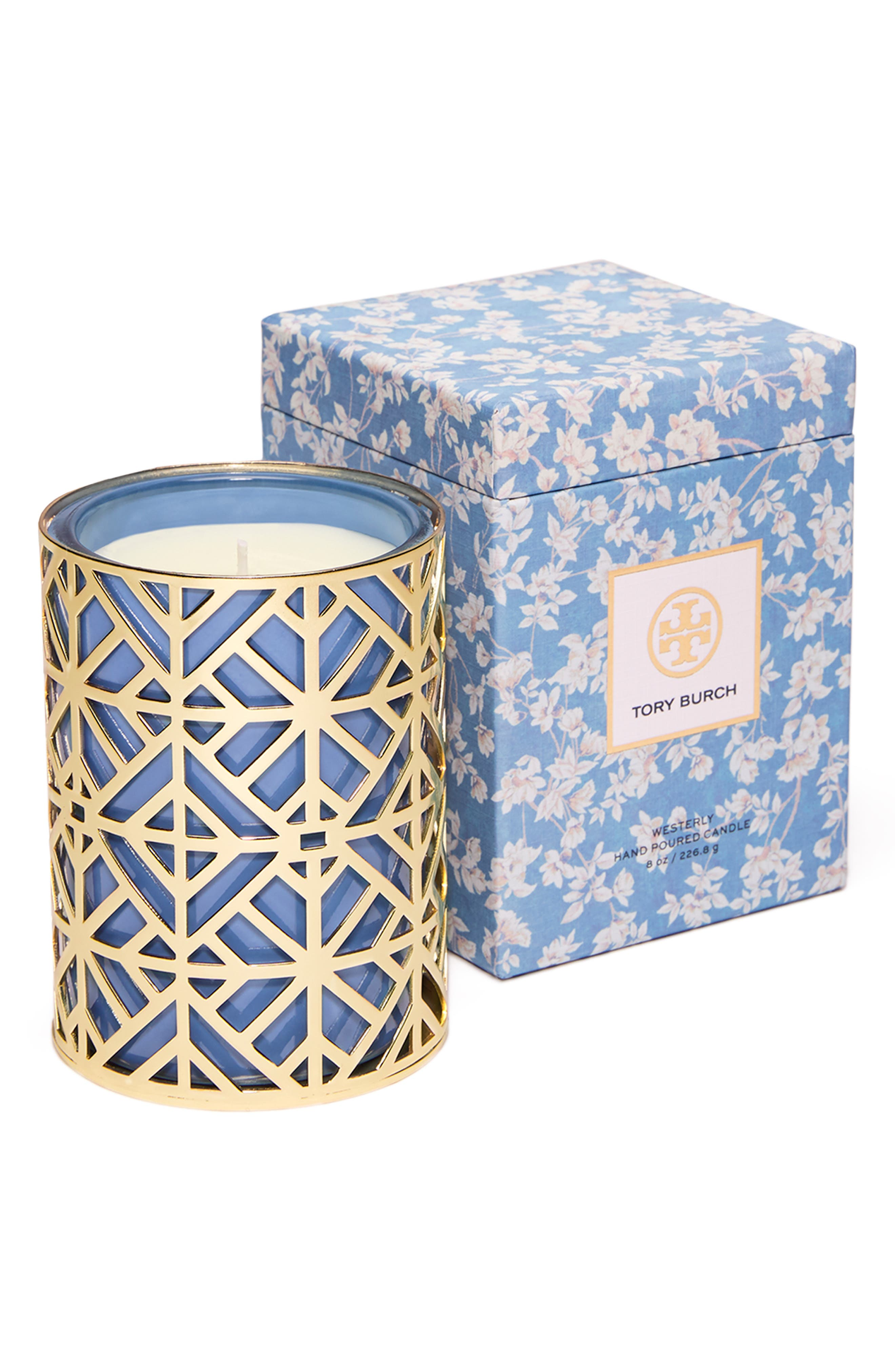 TORY BURCH, Westerley Candle, Main thumbnail 1, color, 400