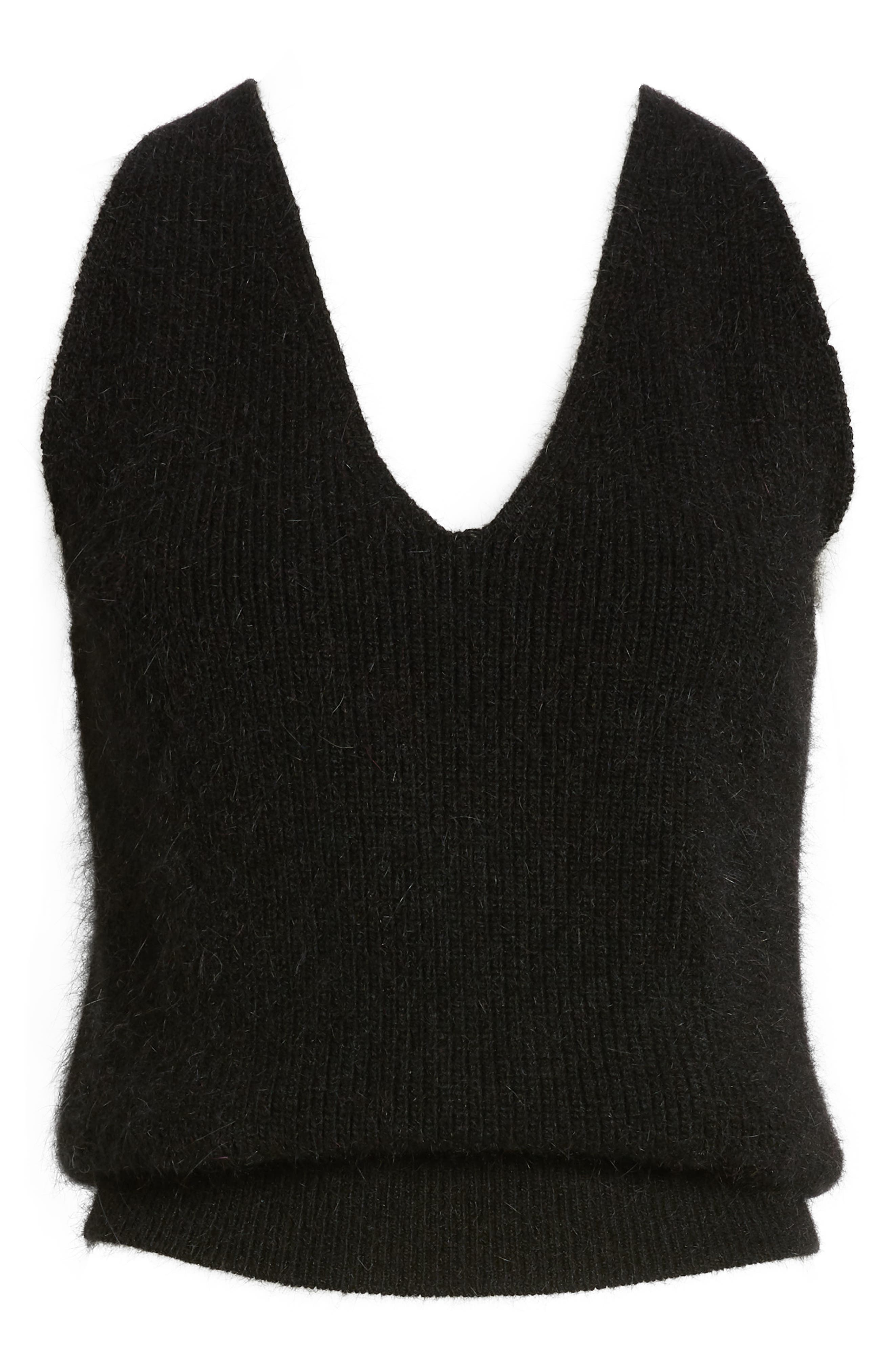 CODEXMODE, Sweater Tank, Alternate thumbnail 6, color, 001