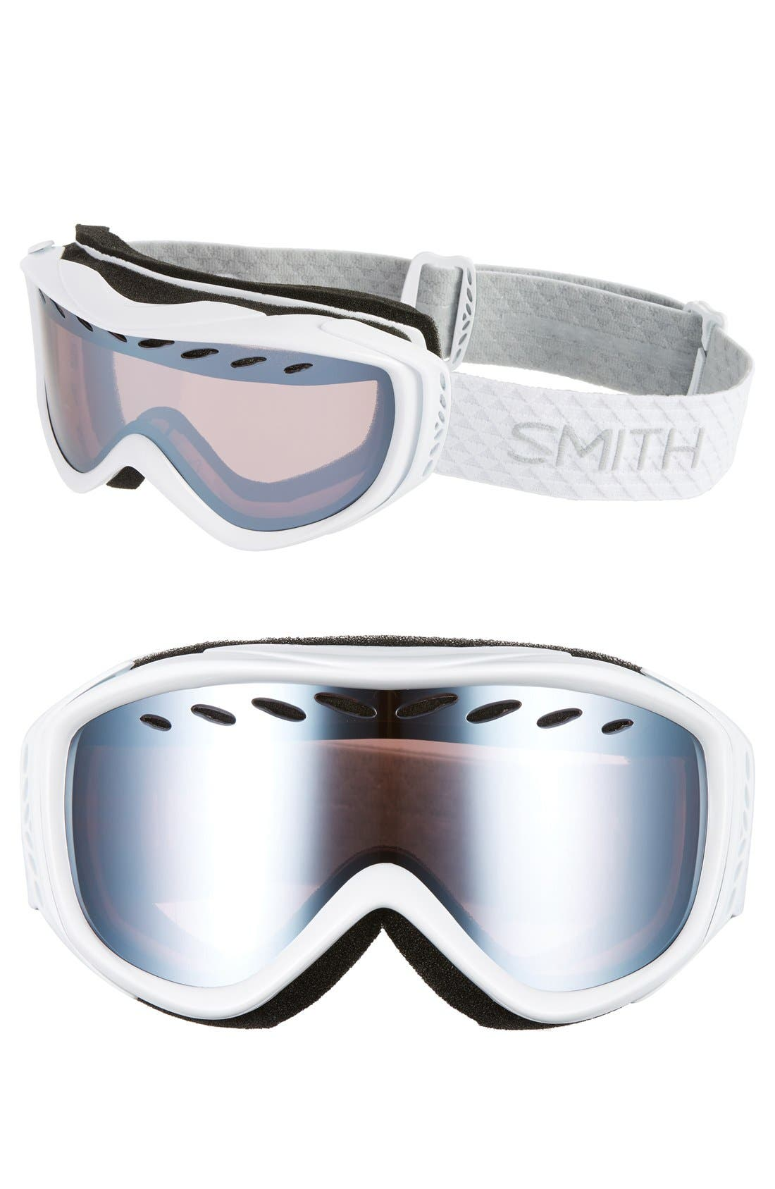 SMITH, 'Transit' Snow Goggles, Main thumbnail 1, color, 100
