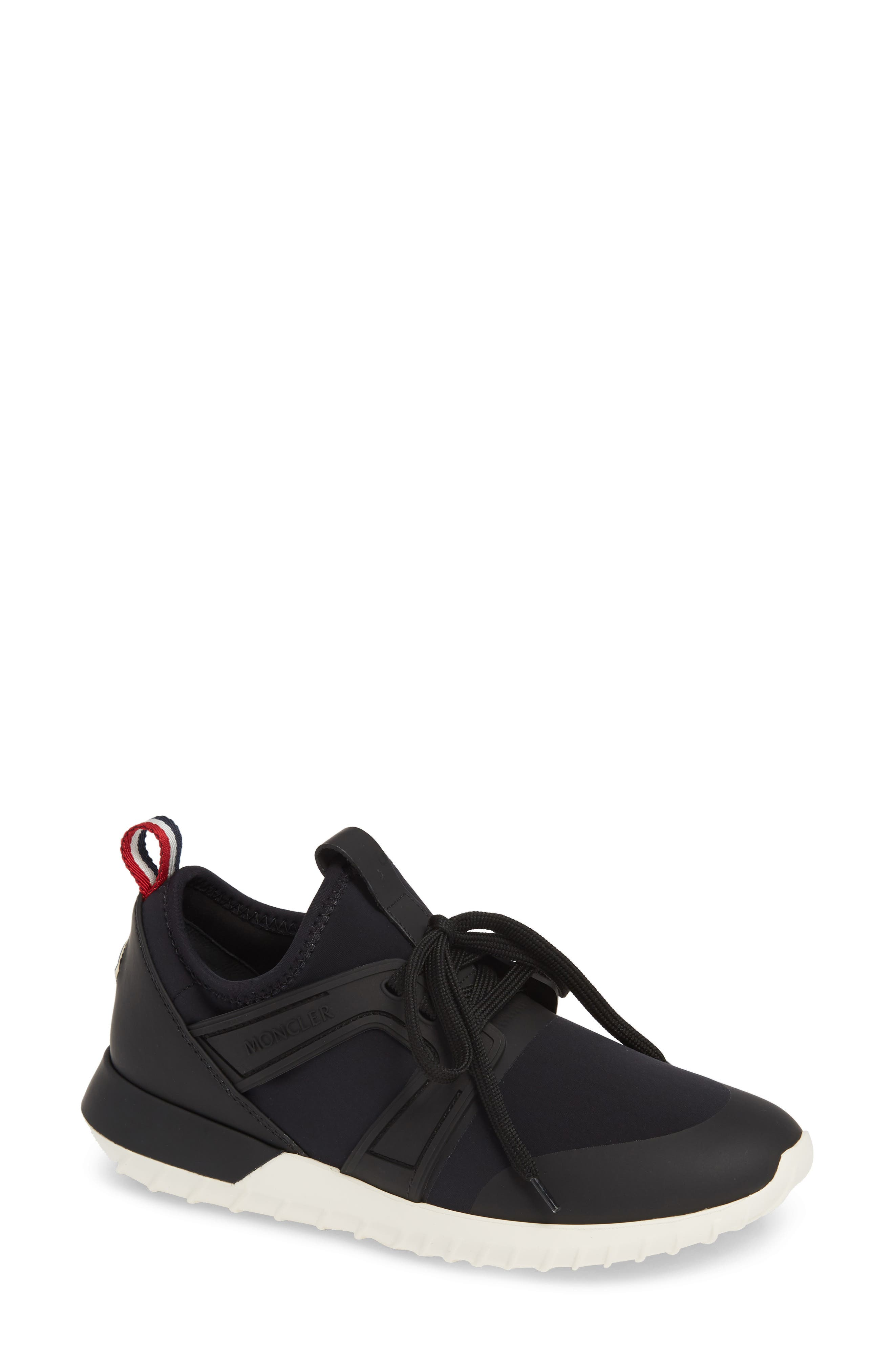 MONCLER, Meline Scarpa Sneaker, Main thumbnail 1, color, BLACK