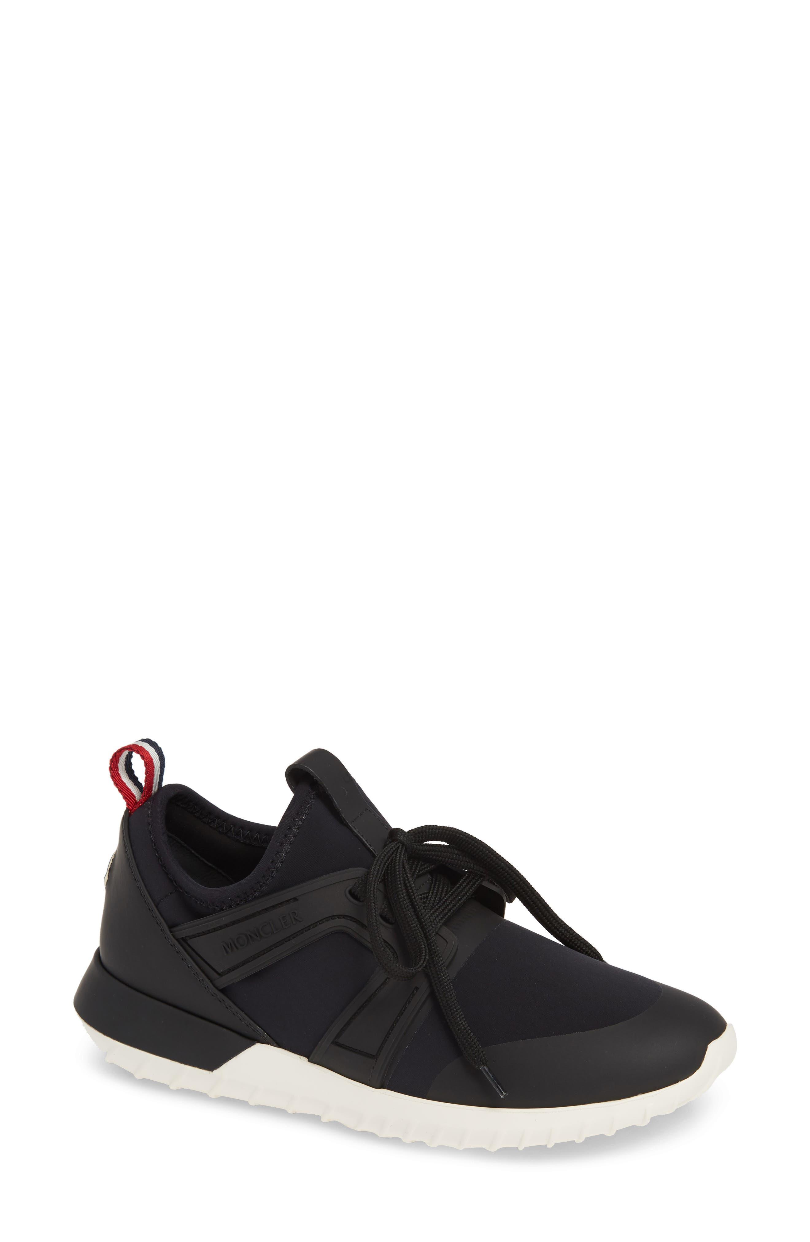 MONCLER Meline Scarpa Sneaker, Main, color, BLACK