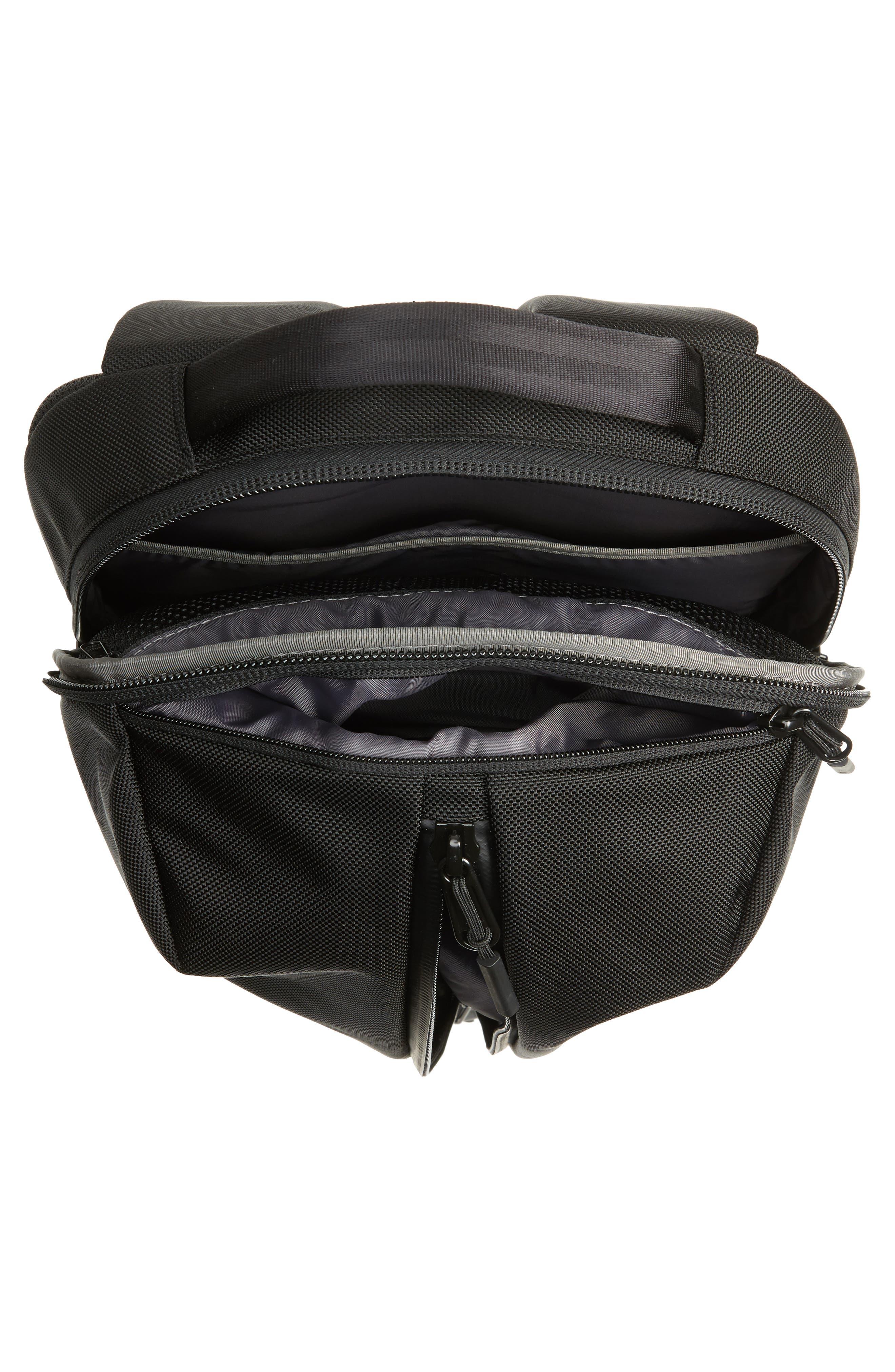 AER, Fit Pack 2 Backpack, Alternate thumbnail 5, color, BLACK