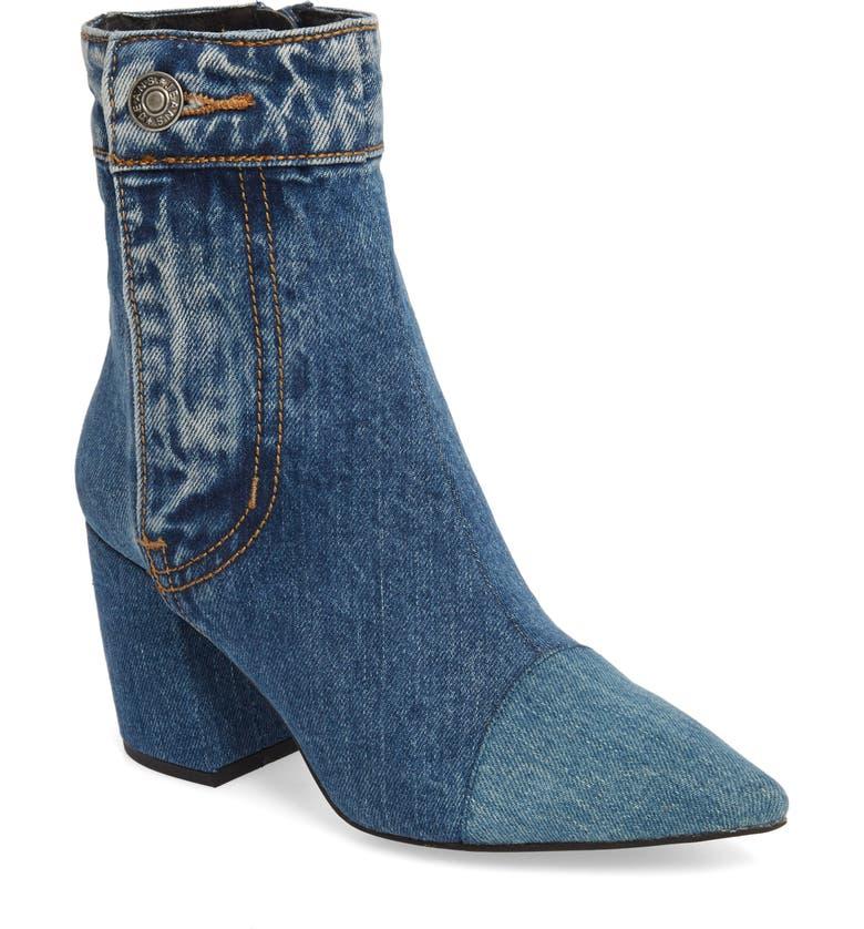 e0ea617334c Jeffrey Campbell Finite Block Heel Bootie (Women)