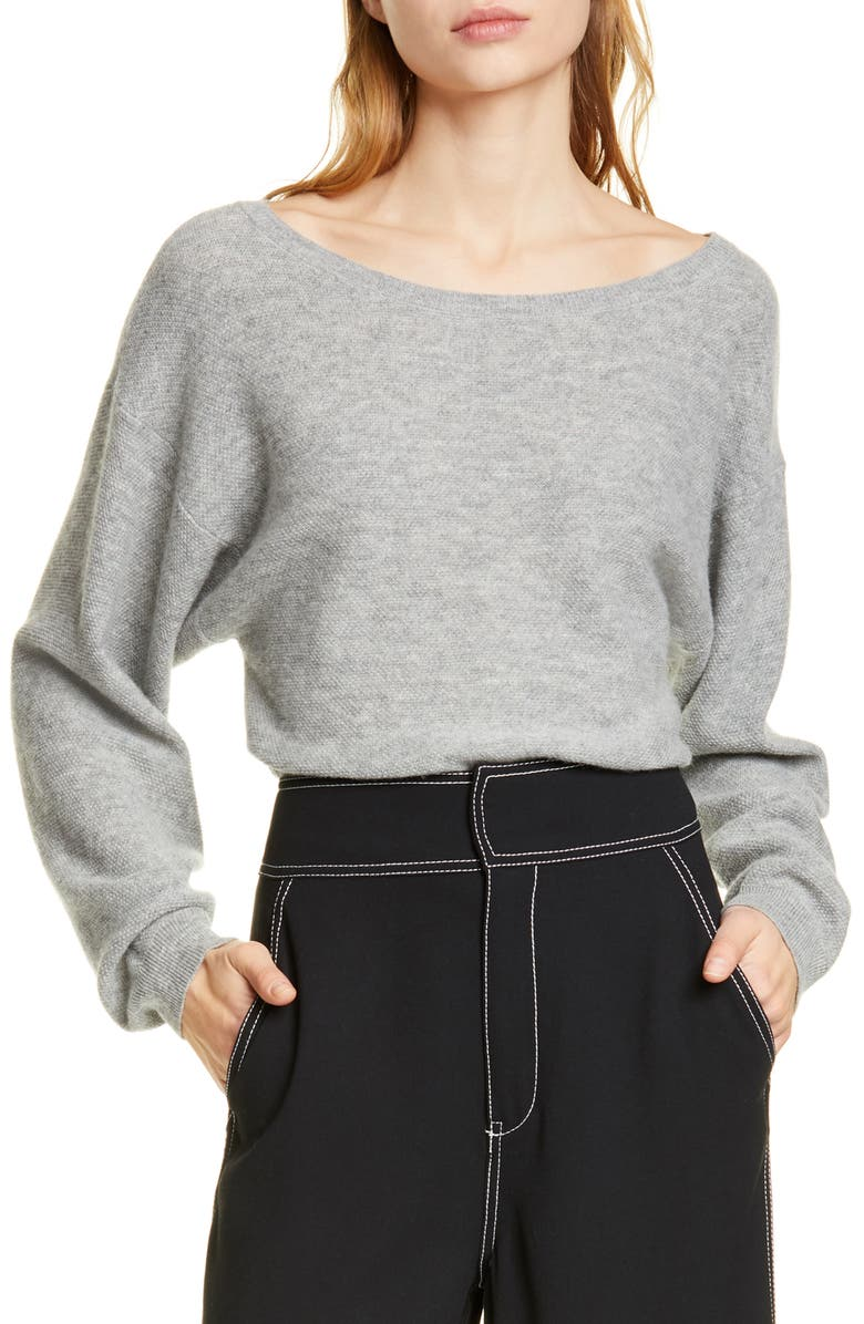 Joie Tops VENIDLE WOOL & CASHMERE BOAT NECK PULLOVER