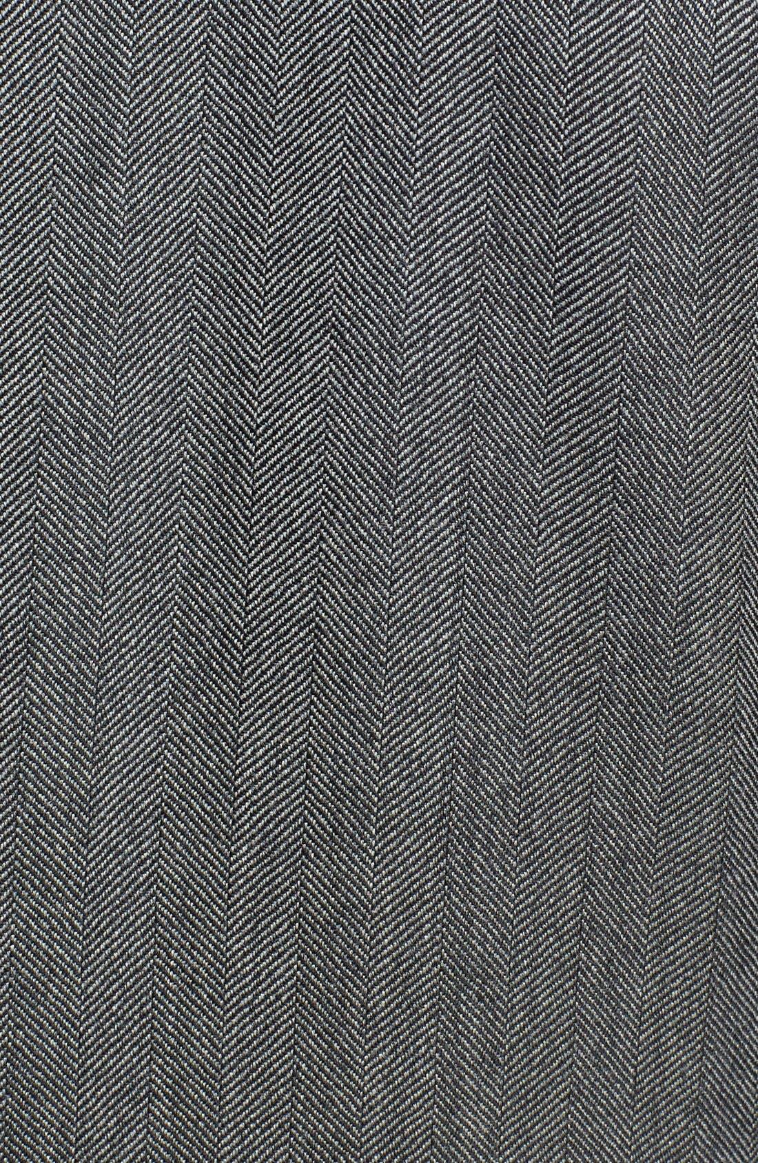 ZZDNUHUGO BOSS, HUGO 'Arux' Trim Fit Herringbone Sport Coat, Alternate thumbnail 4, color, 077