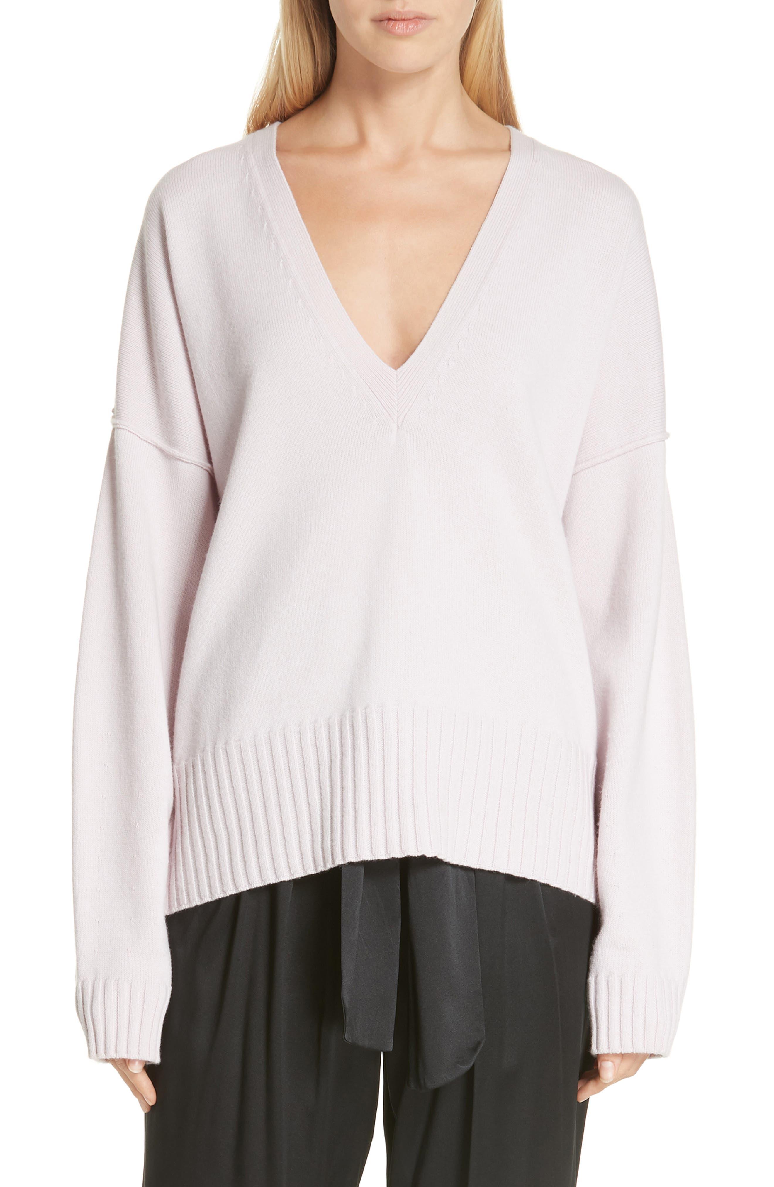 A.l.c. Angeles Merino Wool Sweater, Beige