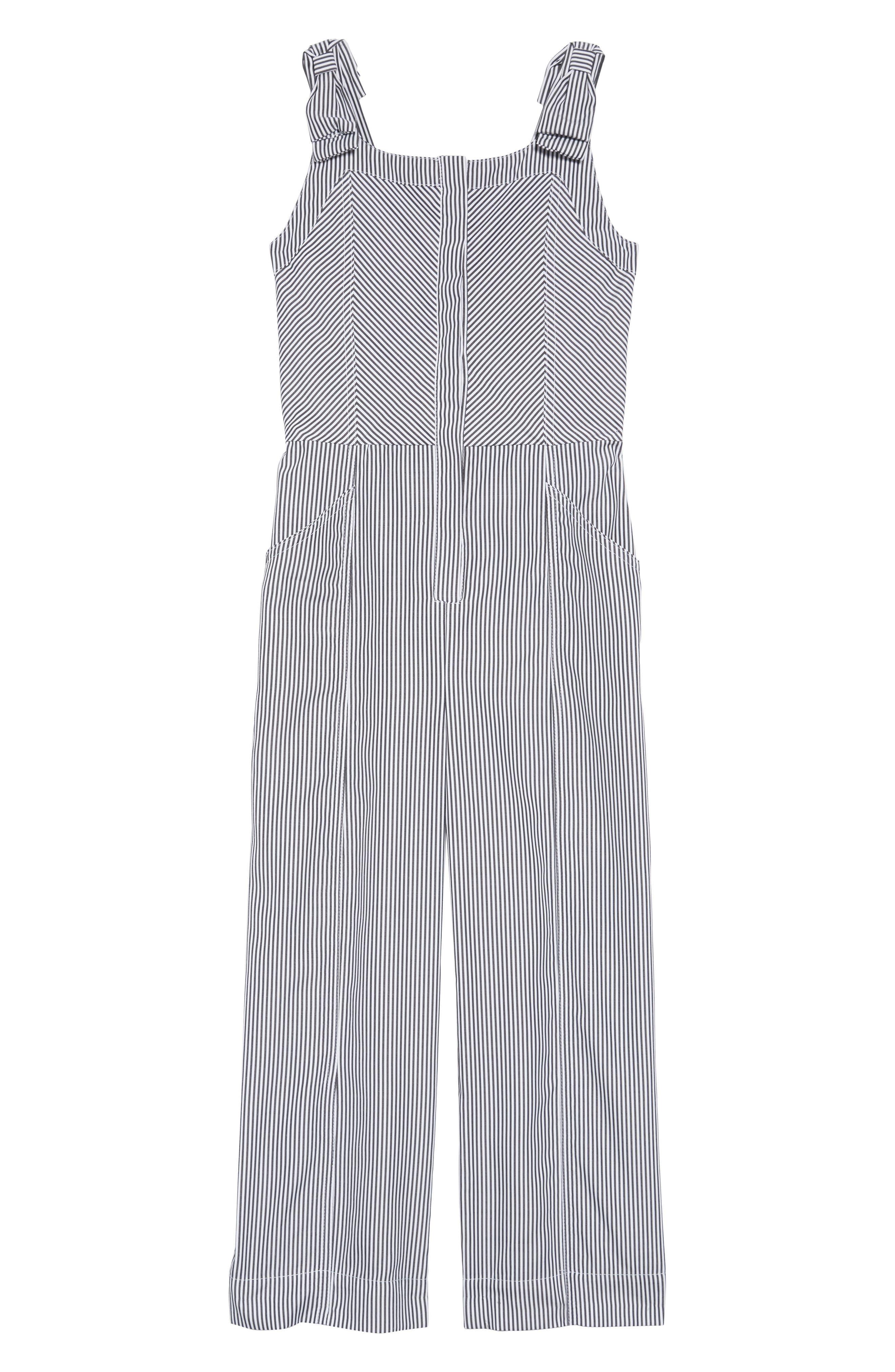 HABITUAL Whitney Stripe Jumpsuit, Main, color, 020