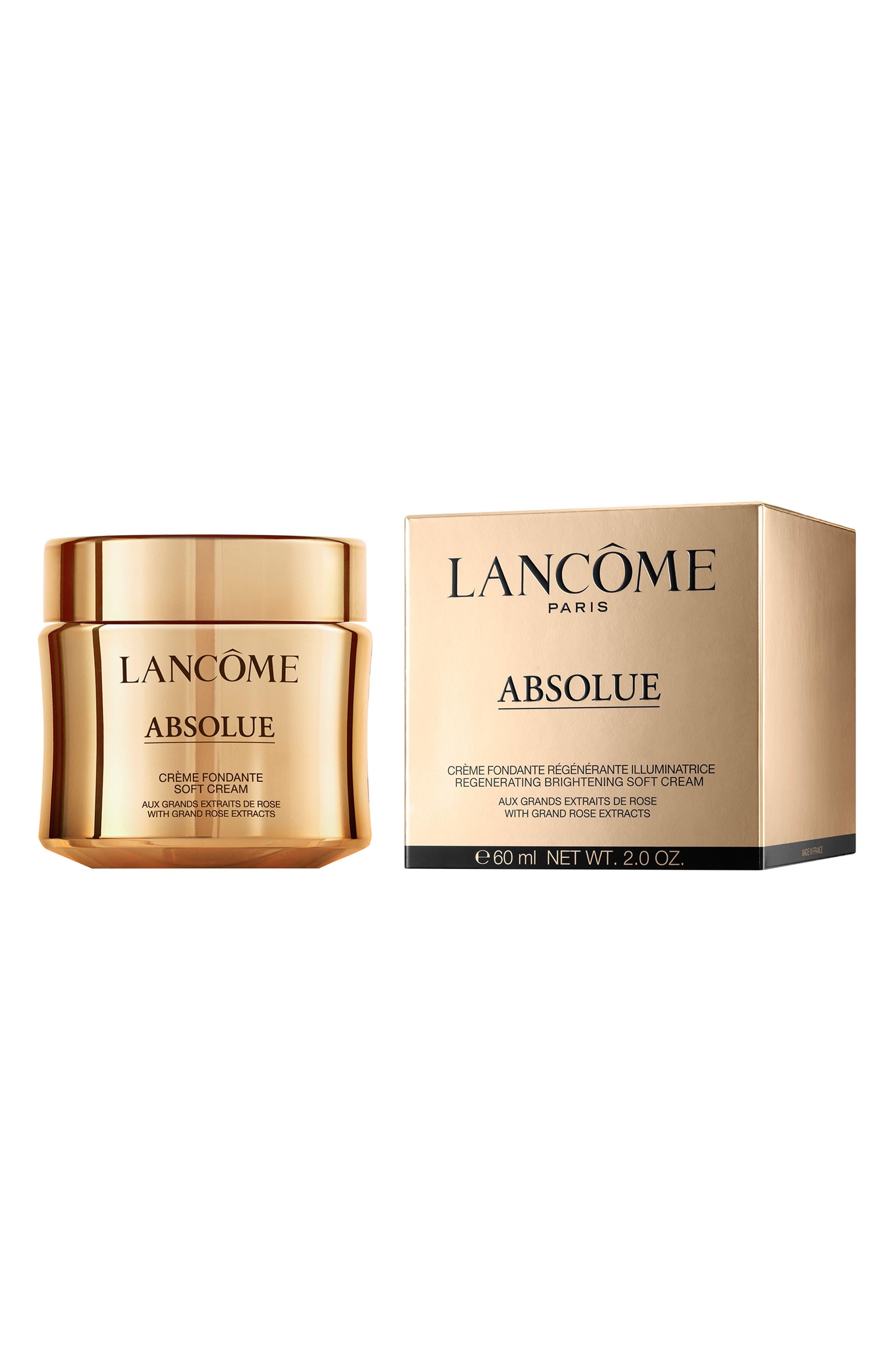 LANCÔME, Absolue Revitalizing & Brightening Soft Cream, Alternate thumbnail 4, color, NO COLOR