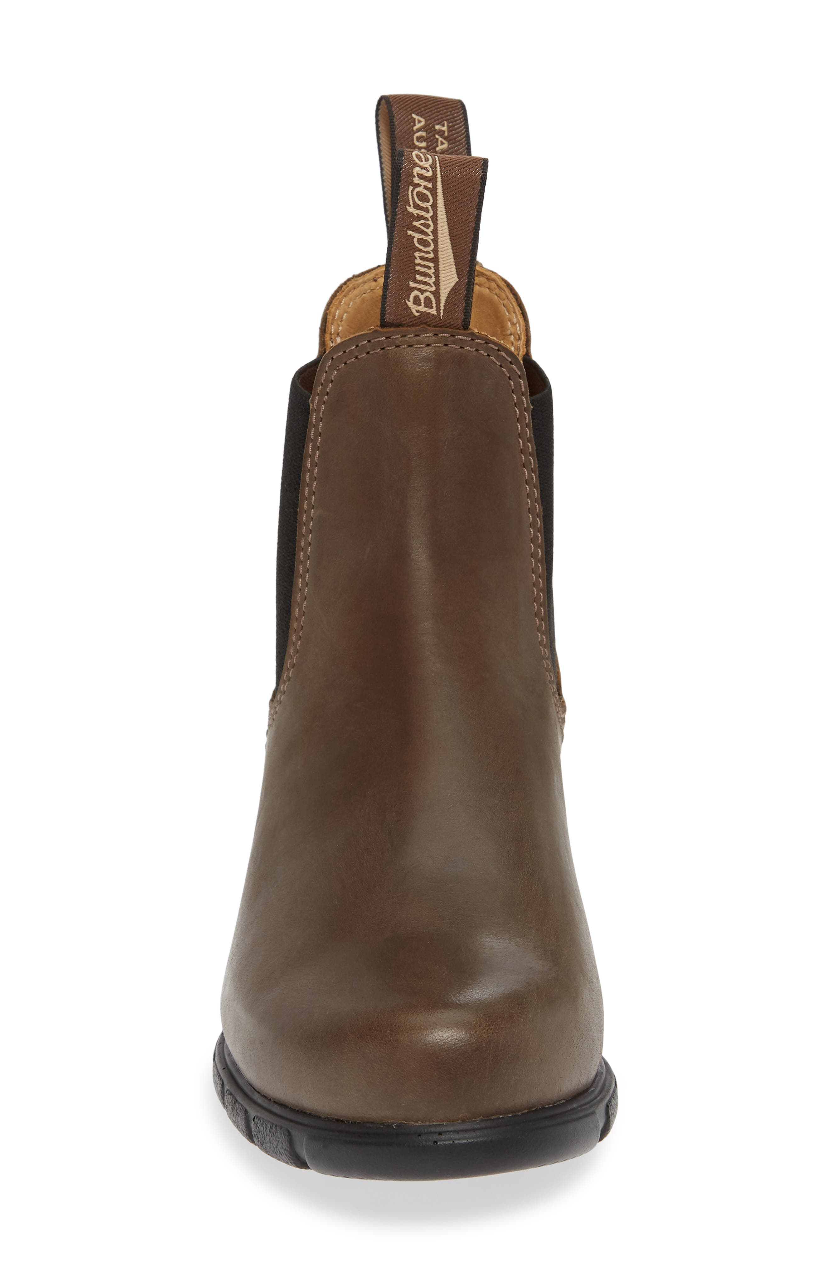 BLUNDSTONE FOOTWEAR, Blundstone 1671 Chelsea Boot, Alternate thumbnail 4, color, ANTIQUE TAUPE LEATHER