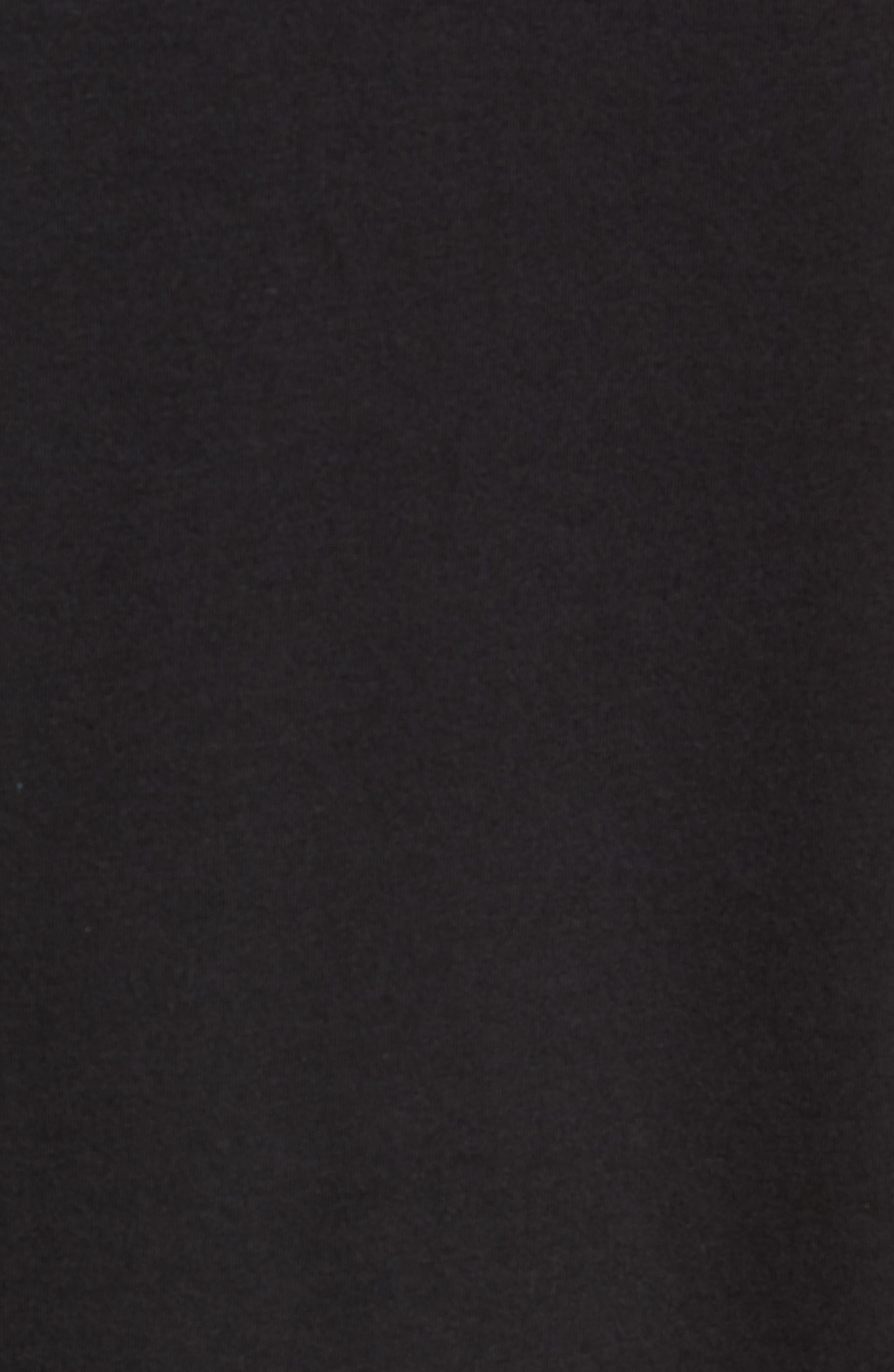 ALO, Triumph Tank, Alternate thumbnail 5, color, SOLID BLACK TRIBLEND