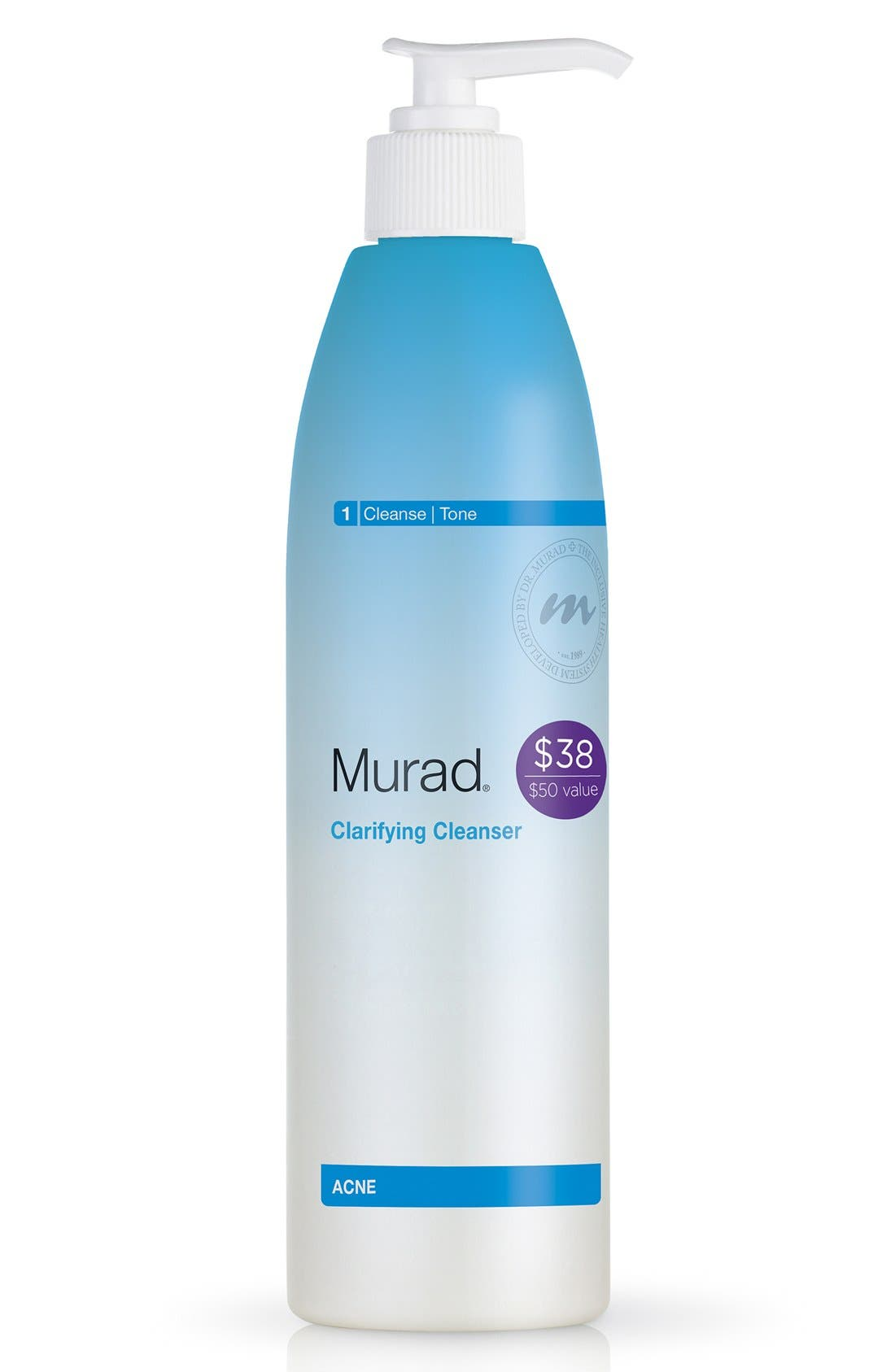 MURAD<SUP>®</SUP>, Clarifying Cleanser, Alternate thumbnail 3, color, NO COLOR