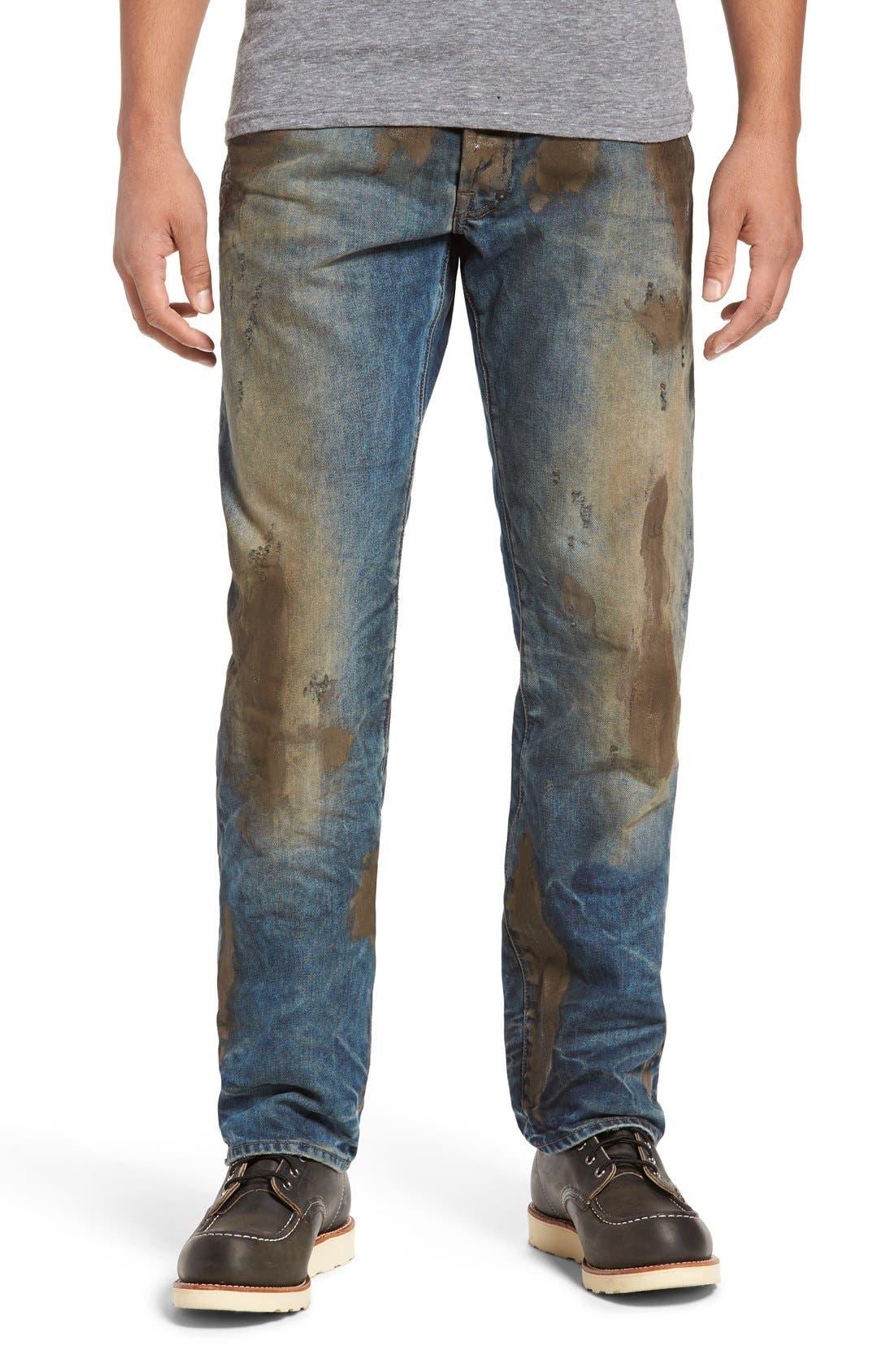 PRPS, Barracuda Straight Leg Jeans, Main thumbnail 1, color, 490