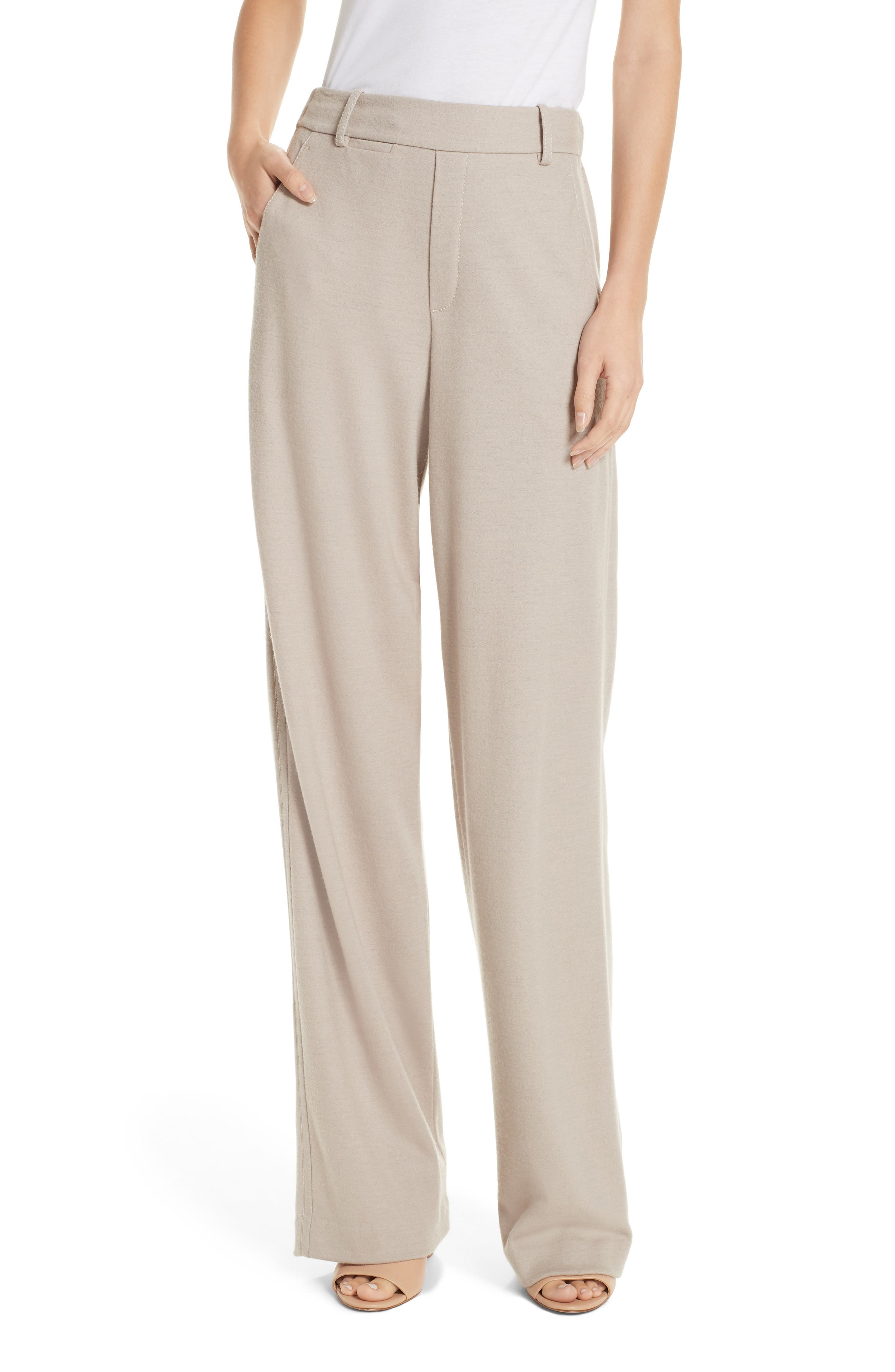 VINCE Cozy Wide Leg Pants, Main, color, MARBLE