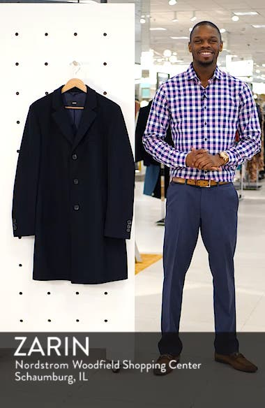 Nye Regular Fit Solid Wool & Cashmere Topcoat, sales video thumbnail